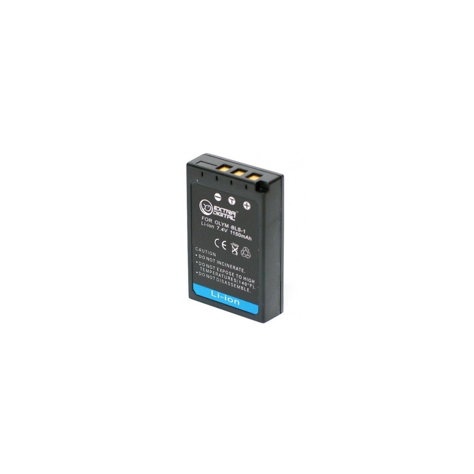 Аккумулятор к фото/видео EXTRADIGITAL Olympus PS-BLS1 (DV00DV1193) изображение 2