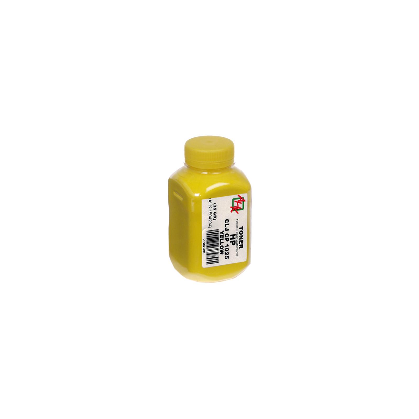 Тонер HP CLJ CP1025 Yellow AHK (1504204)