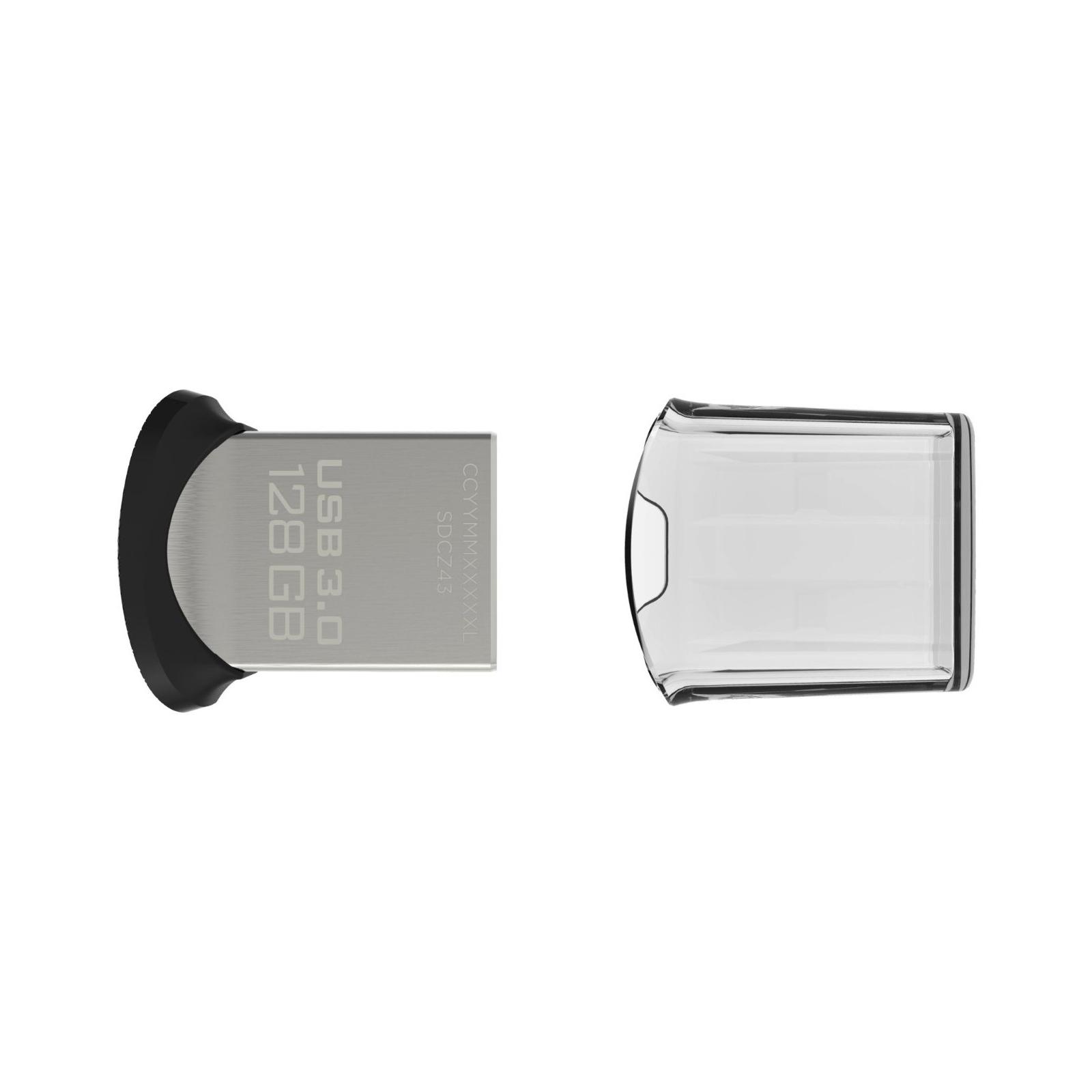 USB флеш накопитель SanDisk 16Gb Cruzer Fit (SDCZ33-016G-B35) изображение 3