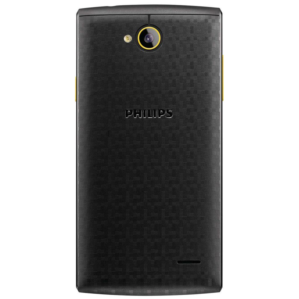 Мобильный телефон PHILIPS S307 Black-Yellow (8712581736125) изображение 2