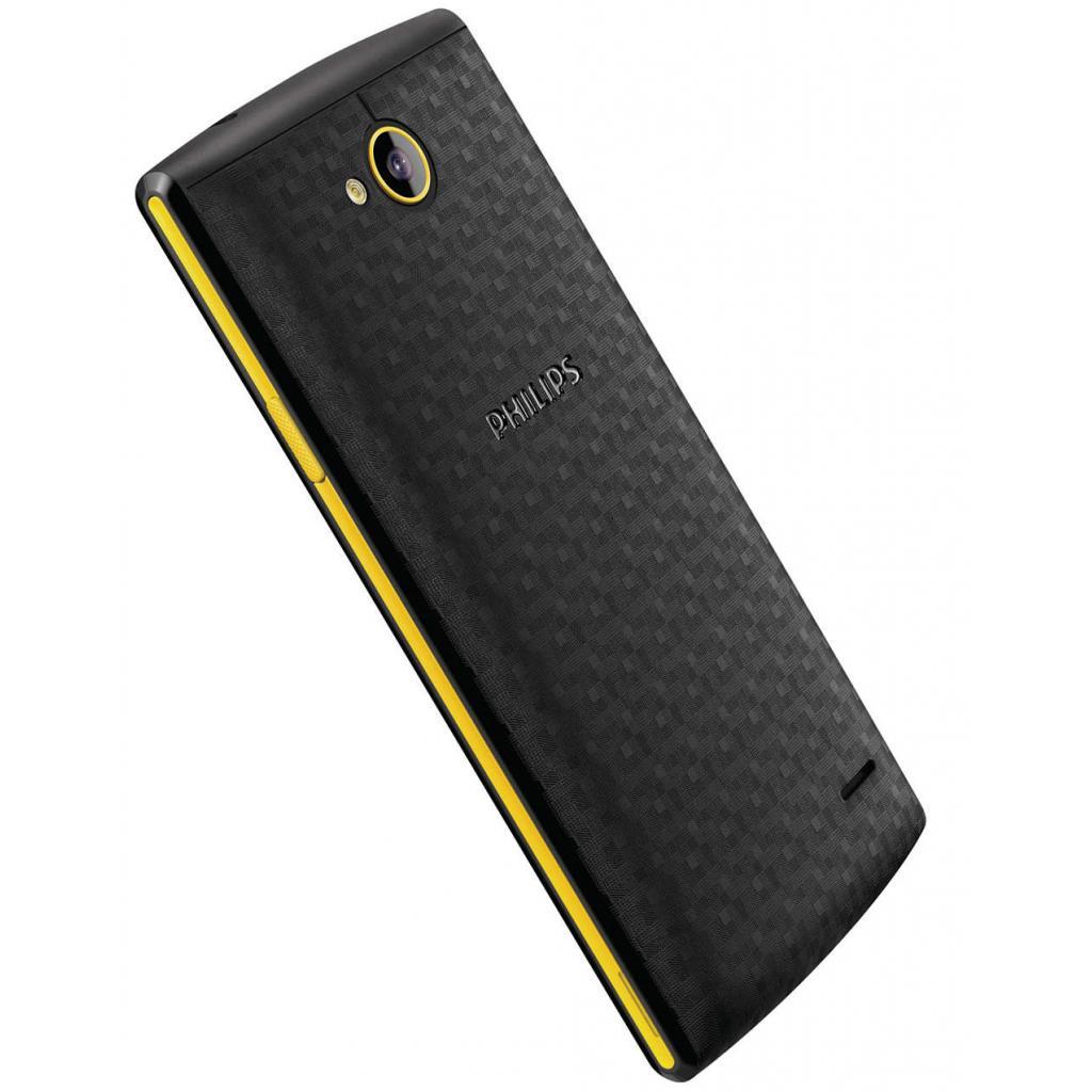 Мобильный телефон PHILIPS S307 Black-Yellow (8712581736125) изображение 7