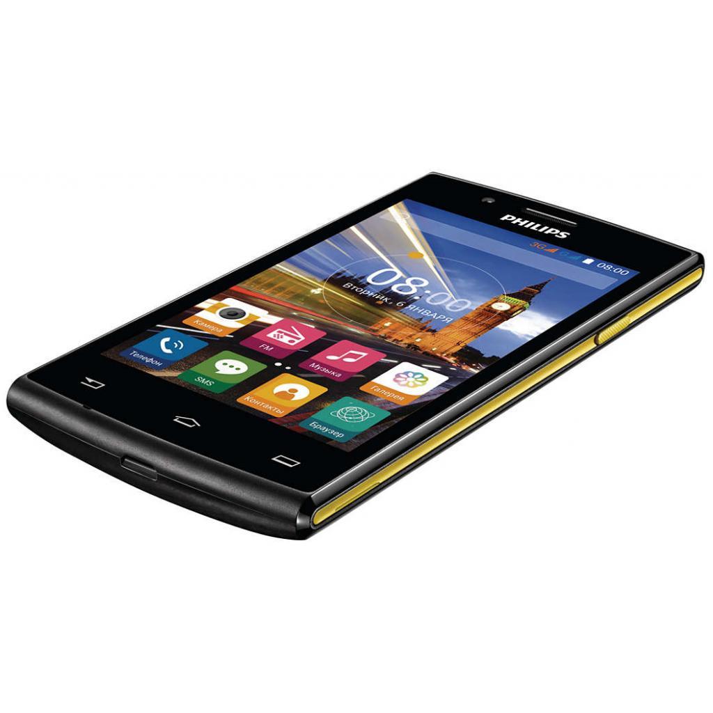 Мобильный телефон PHILIPS S307 Black-Yellow (8712581736125) изображение 8