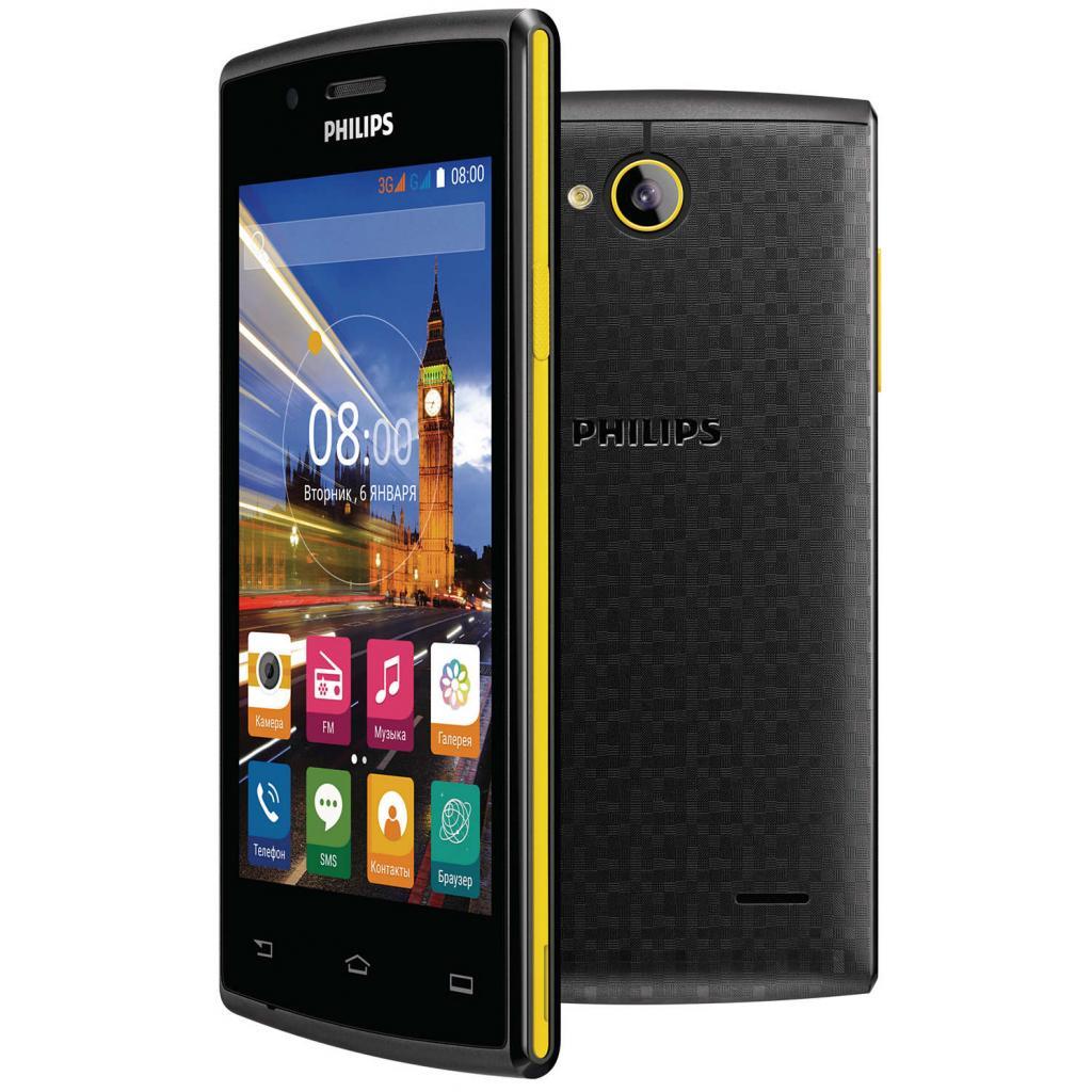 Мобильный телефон PHILIPS S307 Black-Yellow (8712581736125) изображение 9
