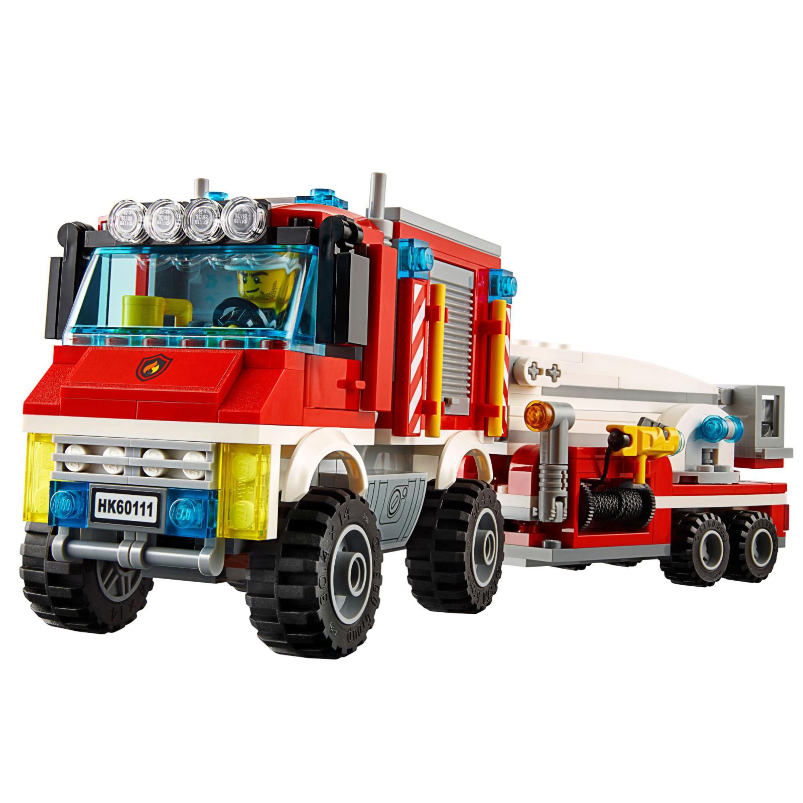Конструктор LEGO City Fire Пожарный грузовик (60111) изображение 3
