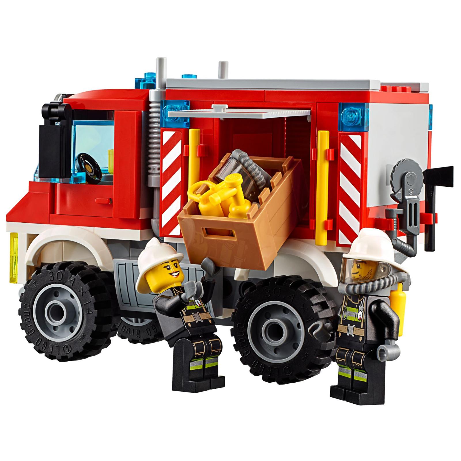 Конструктор LEGO City Fire Пожарный грузовик (60111) изображение 4
