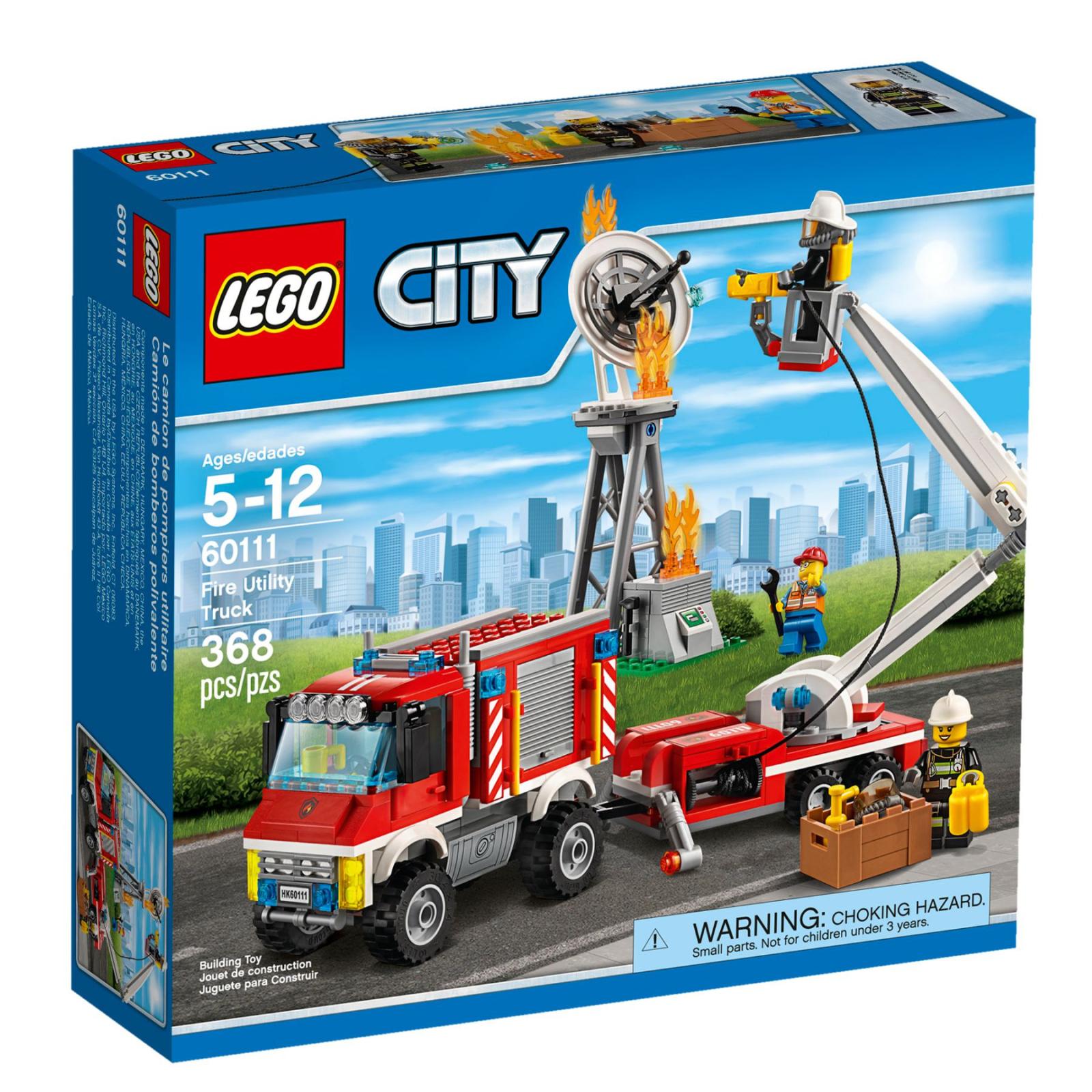 Конструктор LEGO City Fire Пожарный грузовик (60111)