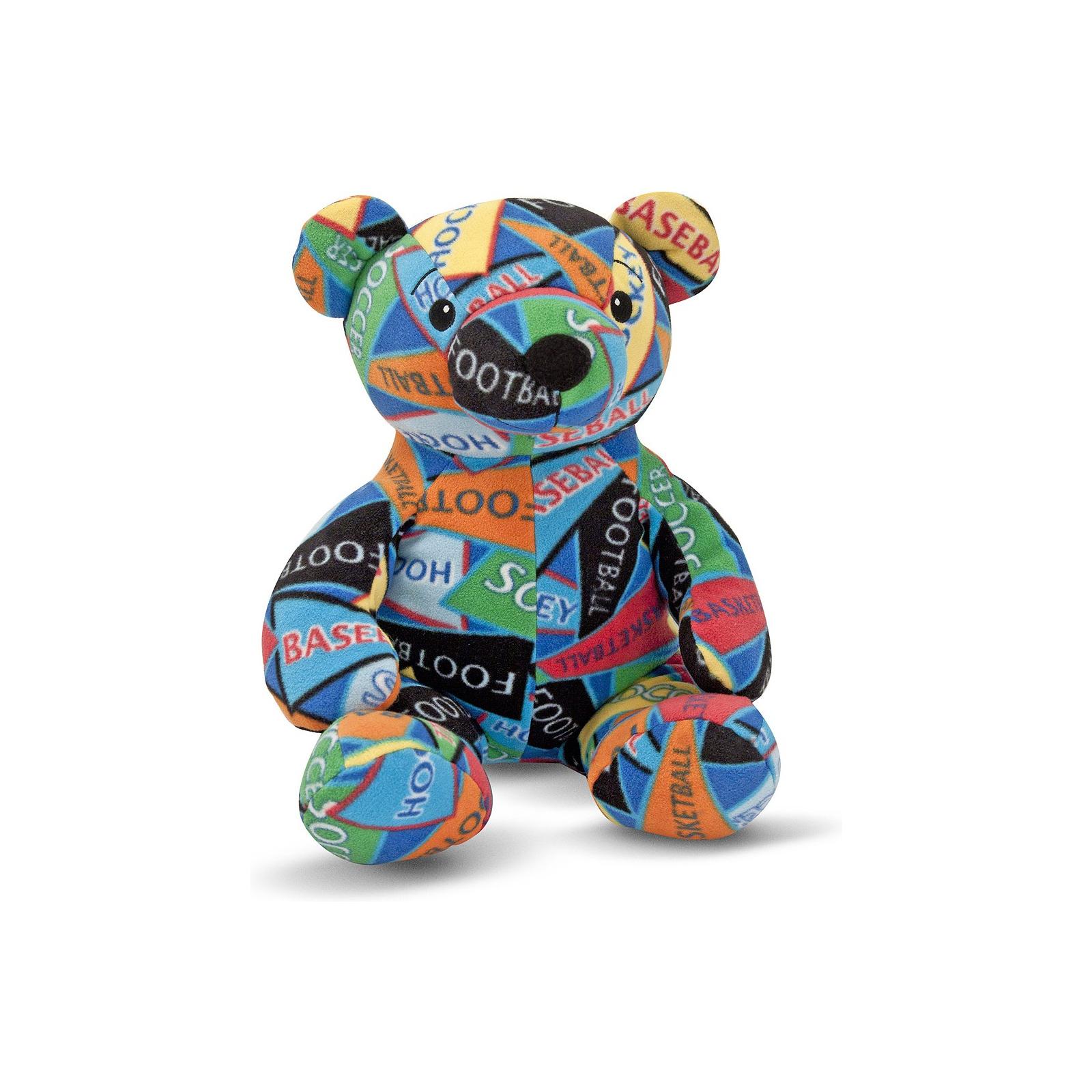 Мягкая игрушка Melissa&Doug Медведь-спортсмен Zach Beeposh (MD7275)