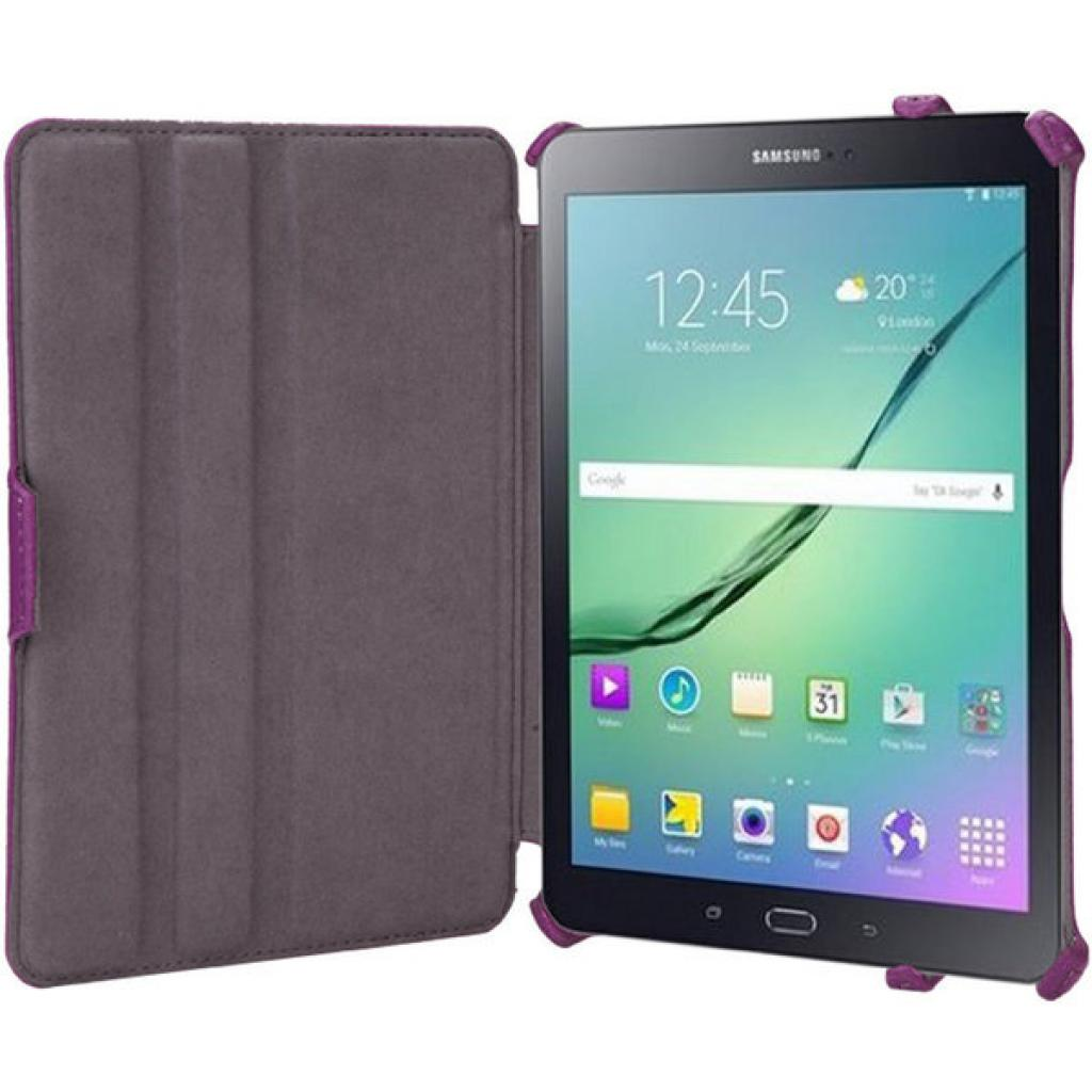 Чехол для планшета AirOn для Samsung Galaxy Tab S 2 8.0 violet (4822352770204) изображение 8