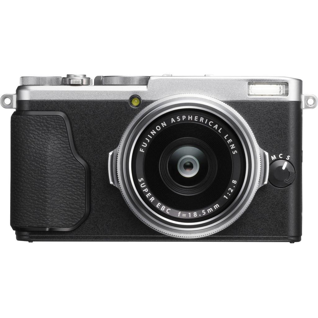Цифровой фотоаппарат Fujifilm FinePix X70 Silver (16499124) изображение 2