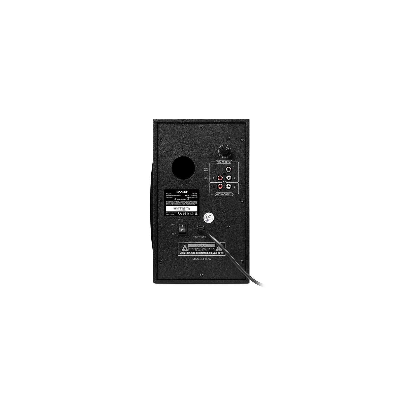 Акустическая система Sven MS-305 black изображение 3