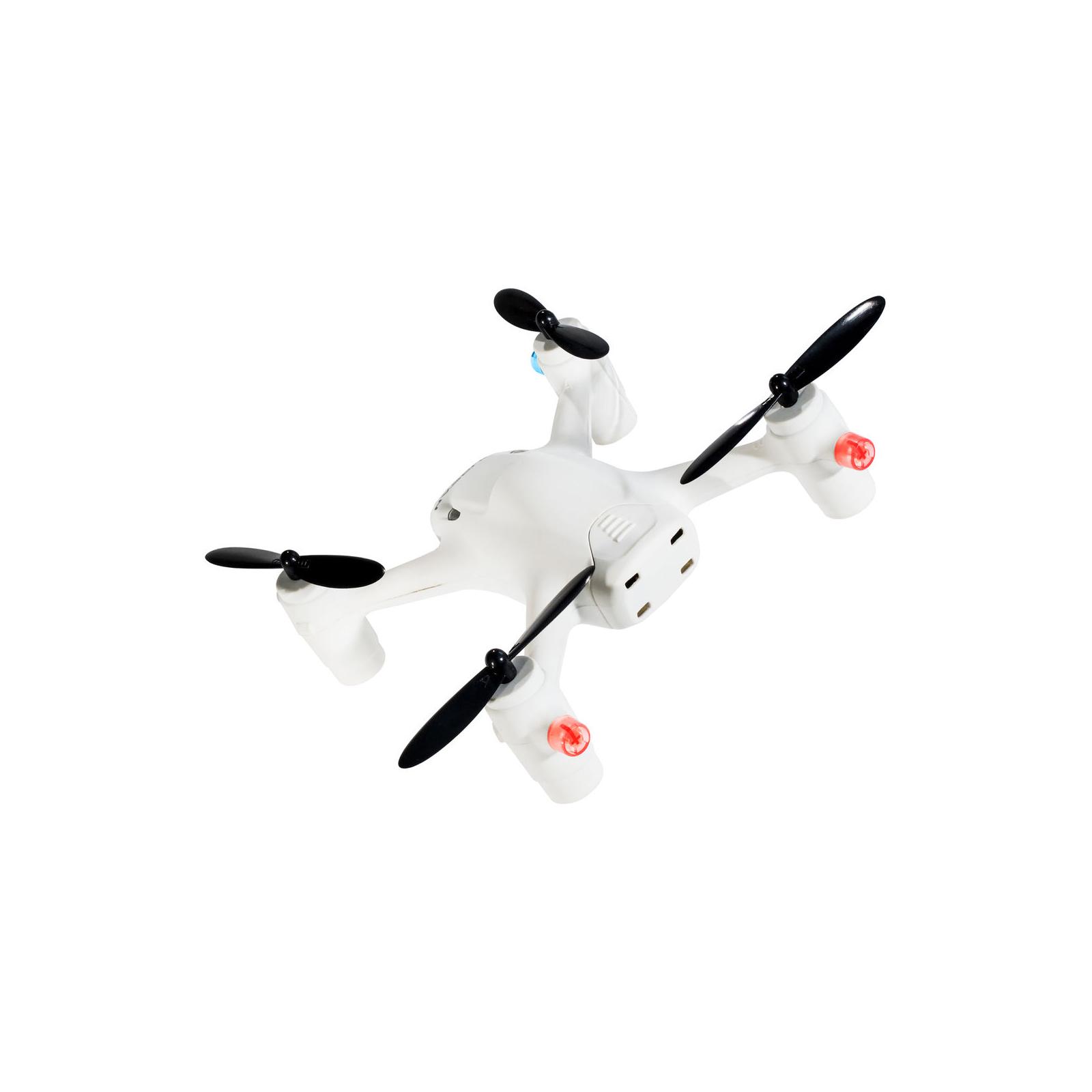 Квадрокоптер Hubsan H107C+ X4 2.4ГГц 4CH RC белый (H107C+ White HD Camera) изображение 8