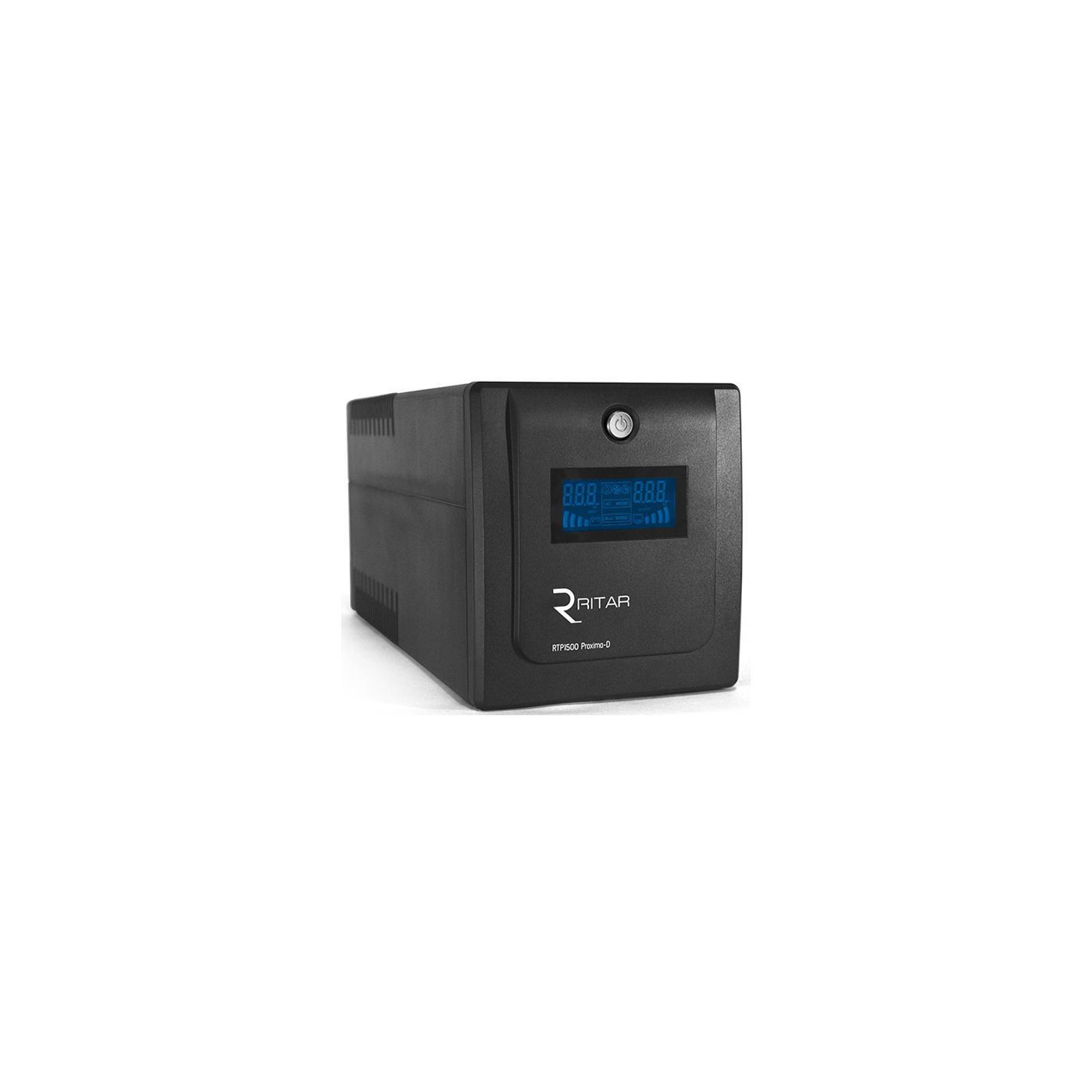 Источник бесперебойного питания Ritar RTP1500 (900W) Proxima-D (RTP1500D)