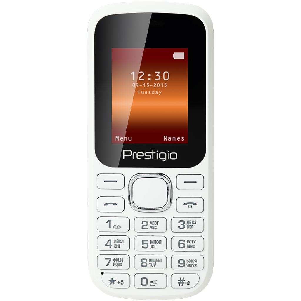 Мобильный телефон PRESTIGIO 1180 Duo White (PFP1180DUOWHITE)