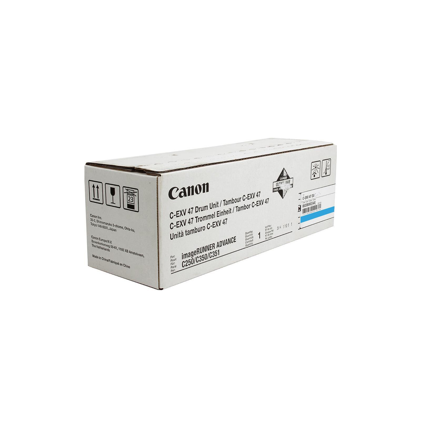 Оптический блок (Drum) Canon C-EXV47 iR Adv 350/250/С1325 Cyan (8521B002)
