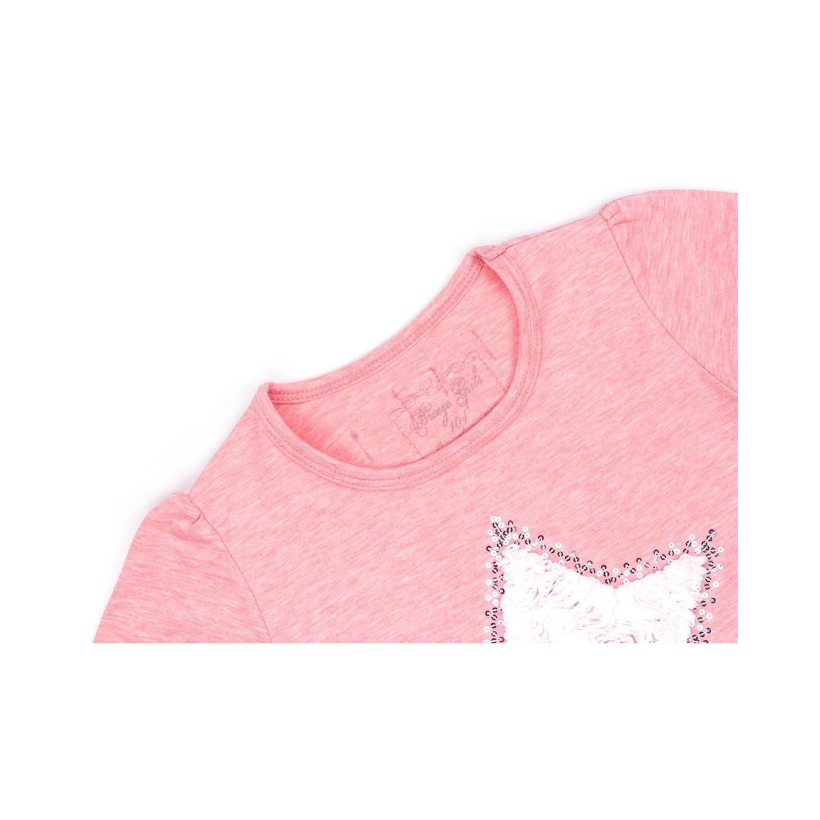 Кофта Breeze со звездой и оборкой (10536-110G-pink) изображение 3