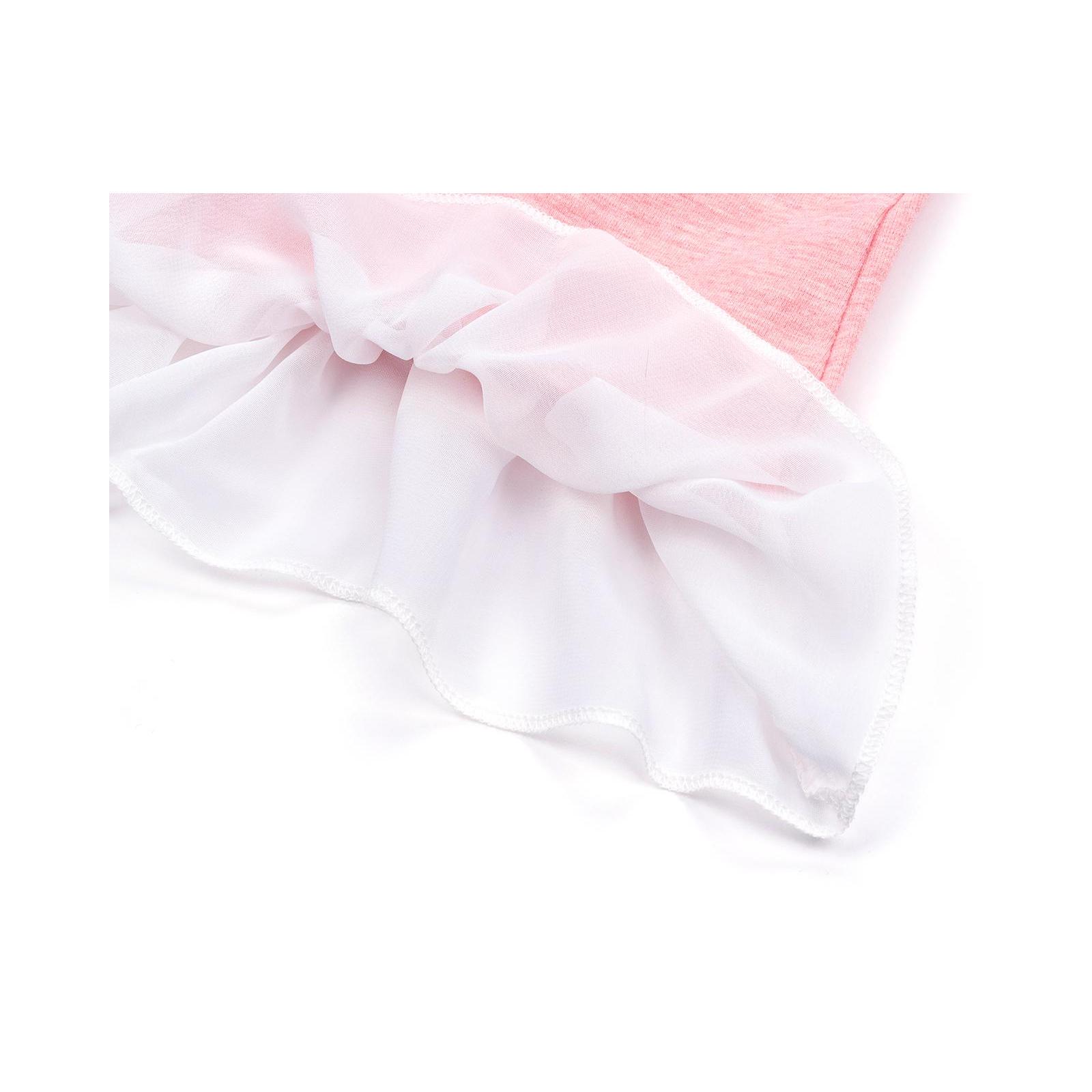 Кофта Breeze со звездой и оборкой (10536-110G-pink) изображение 7