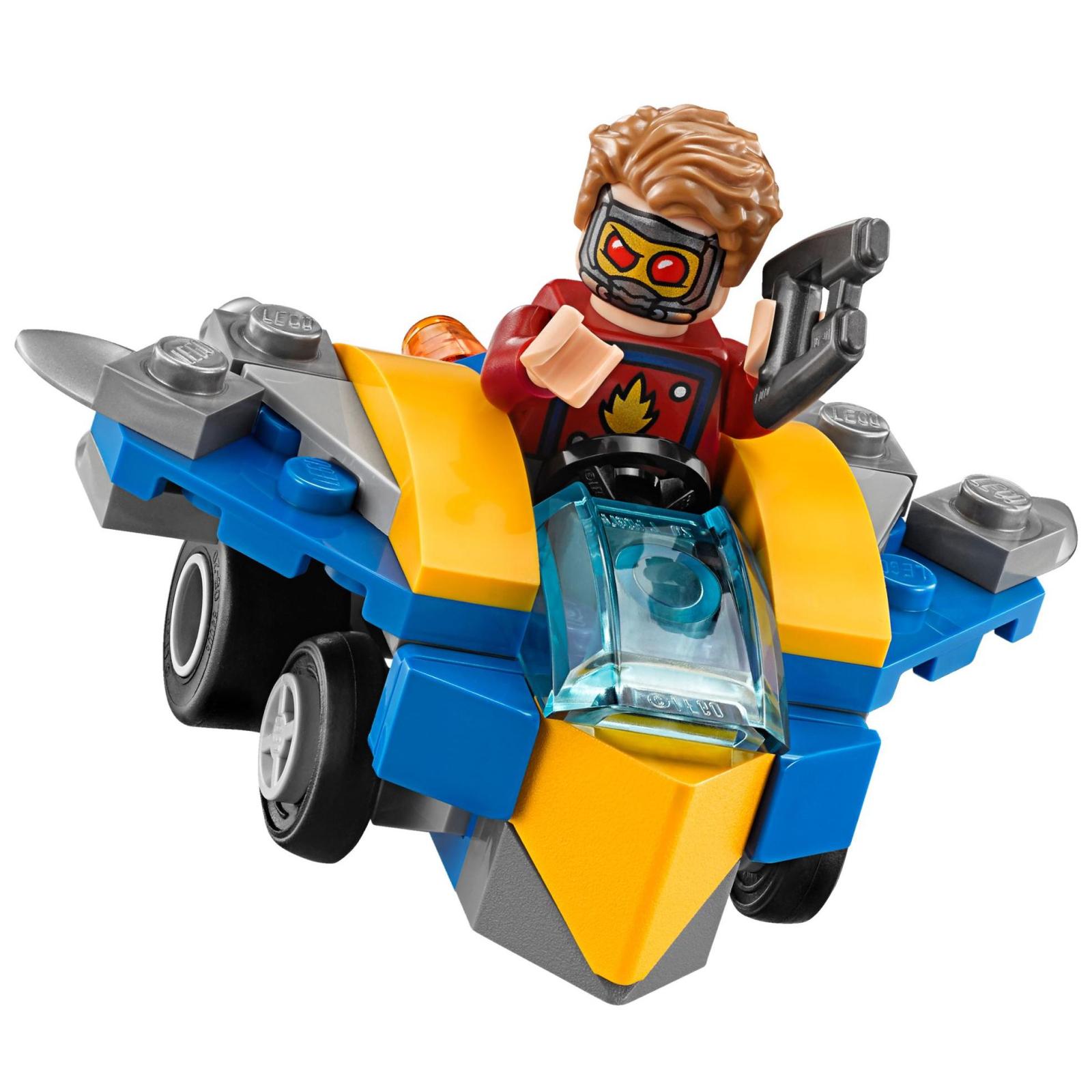 Конструктор LEGO Super Heroes Mighty Micros: Звездный лорд против Небулы (76090) изображение 5