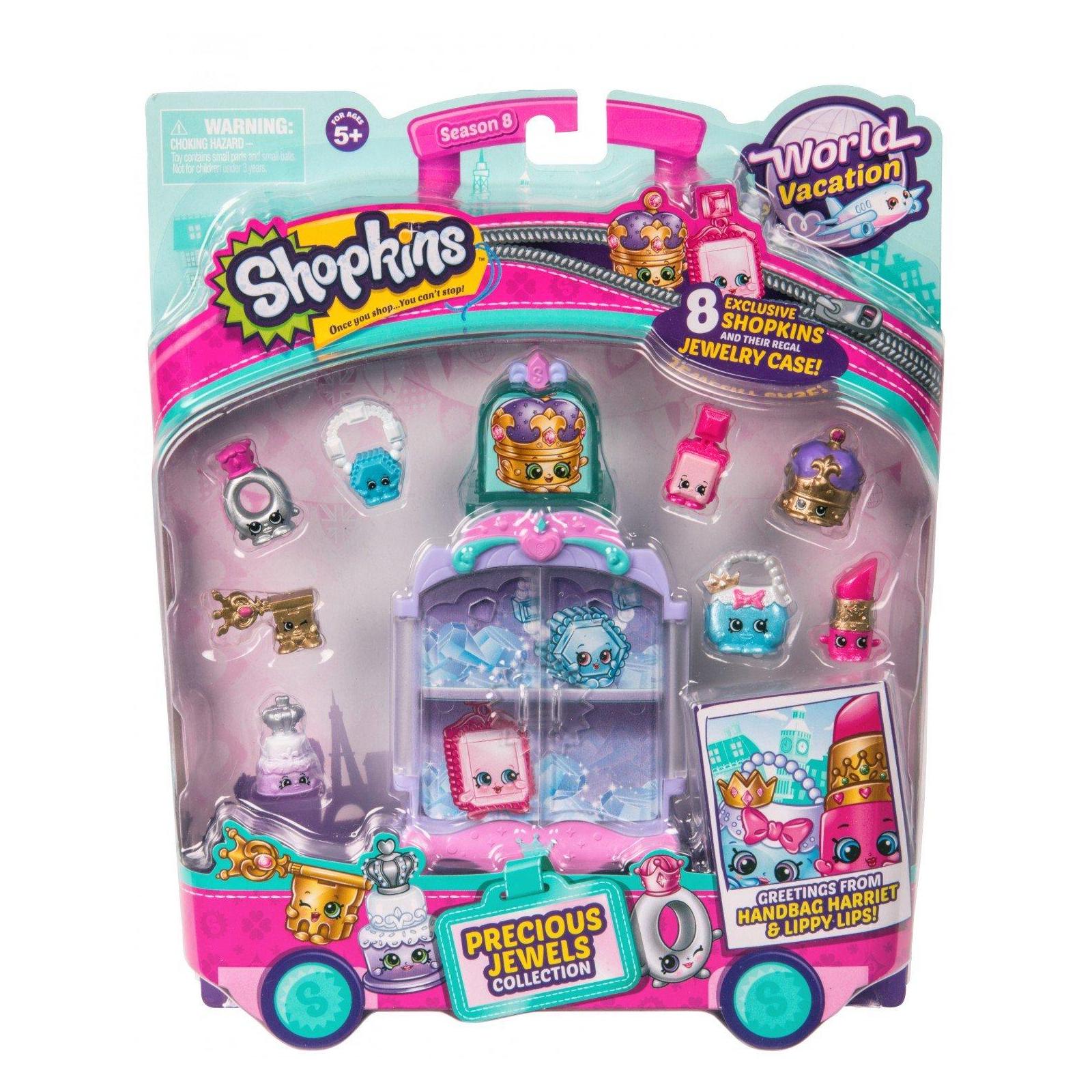 Игровой набор Shopkins S8 Кругосветное путешествие - Королевские драгоценности (56572)
