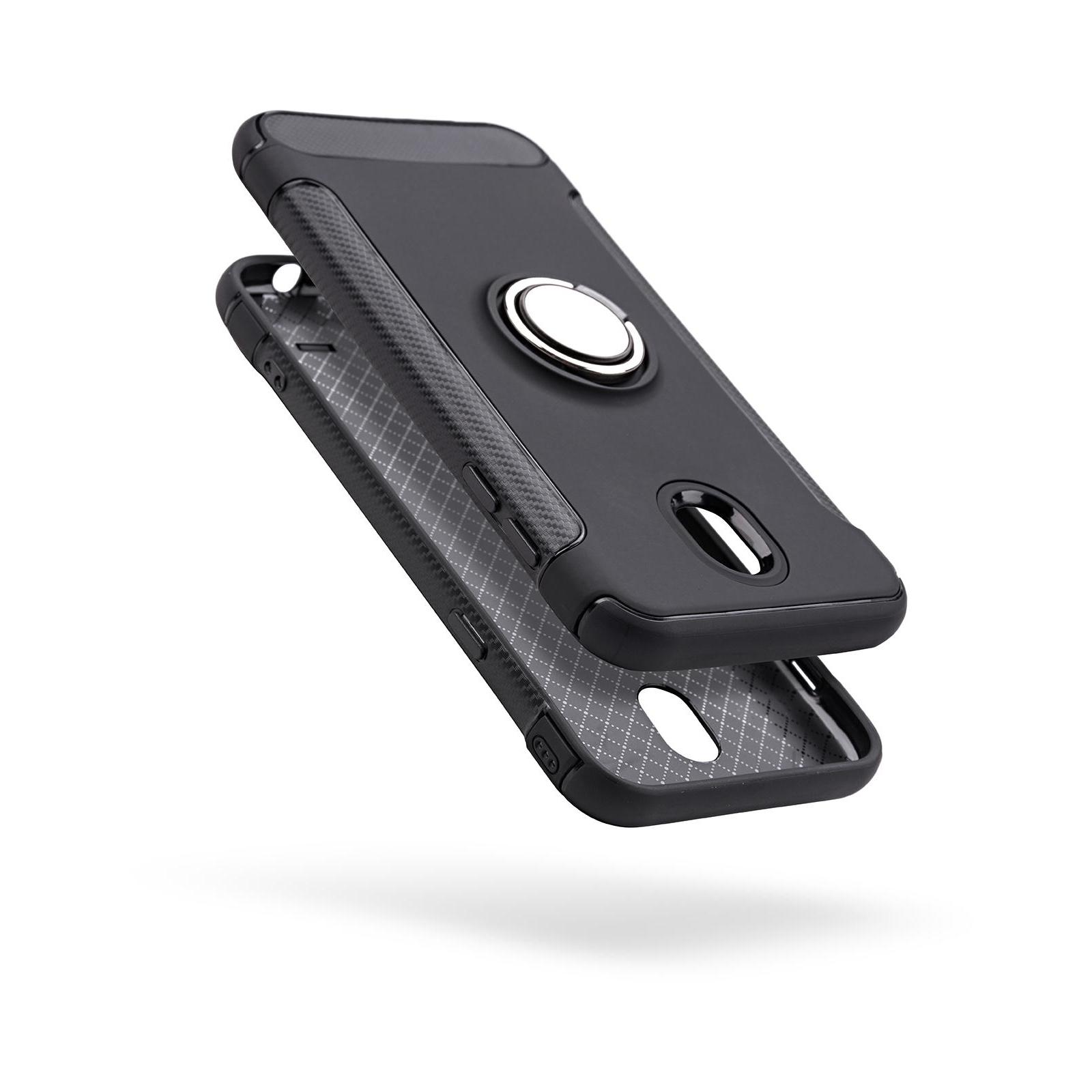 Чехол для моб. телефона Laudtec для Samsung J7 2017/J730 Ring stand (black) (LR-J730-BC) изображение 2