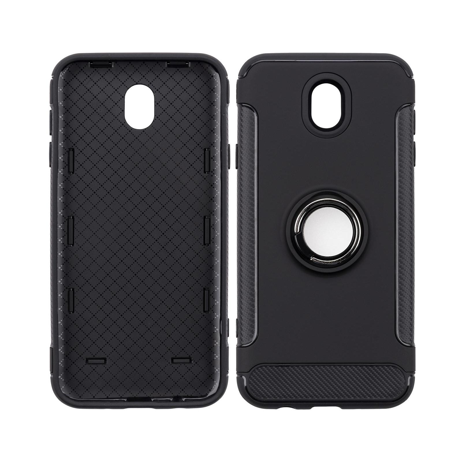 Чехол для моб. телефона Laudtec для Samsung J7 2017/J730 Ring stand (black) (LR-J730-BC) изображение 5