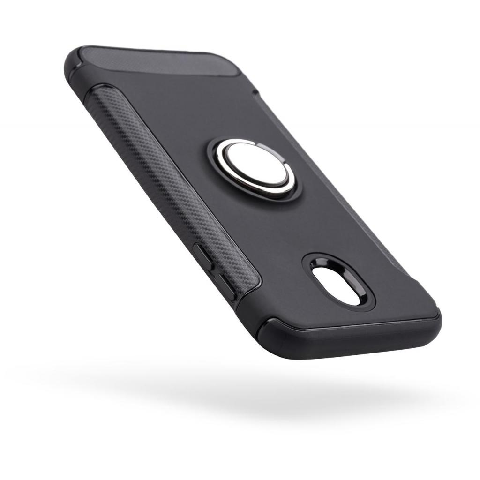 Чехол для моб. телефона Laudtec для Samsung J7 2017/J730 Ring stand (black) (LR-J730-BC) изображение 7