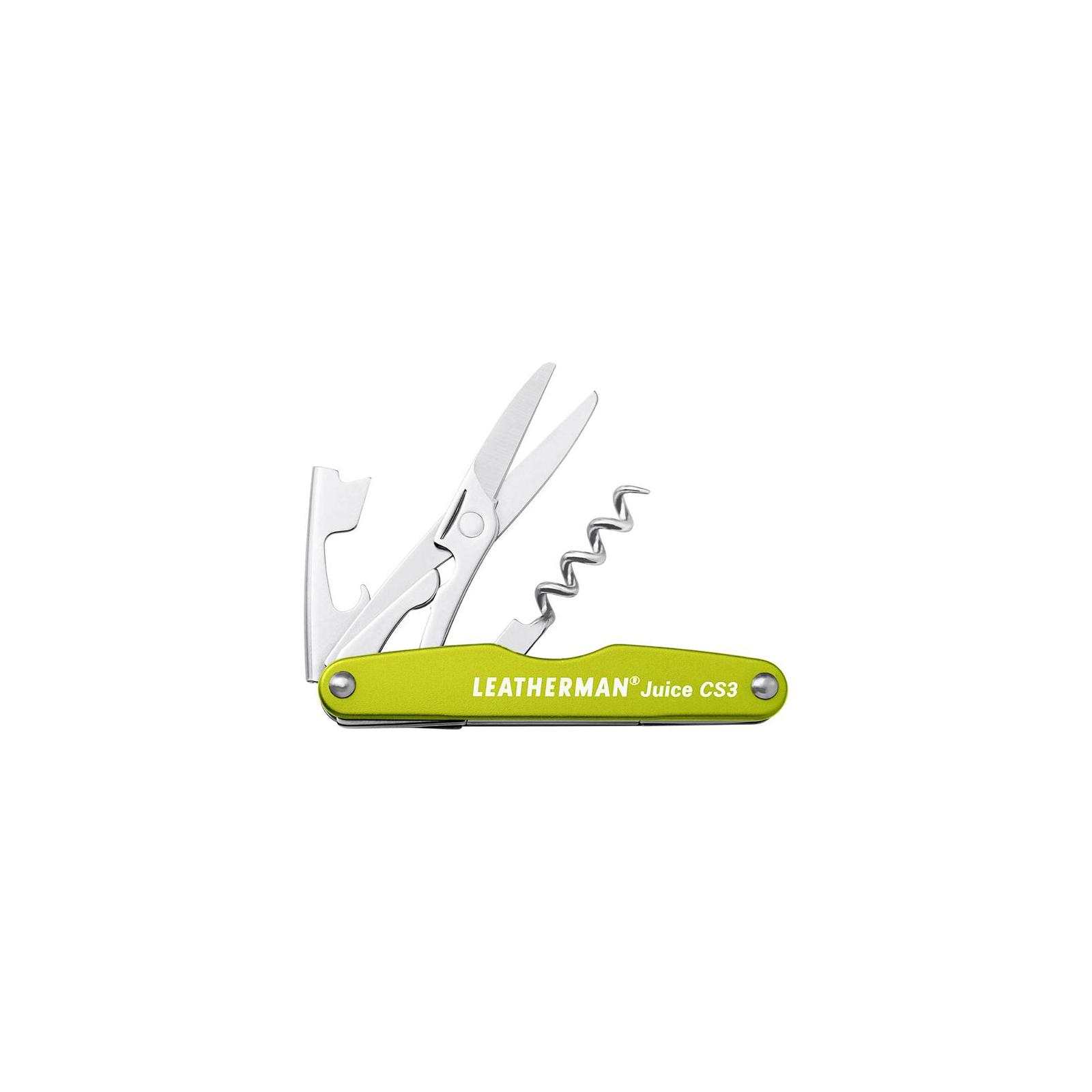 Мультитул Leatherman Juice CS3- Moss Green (832371)