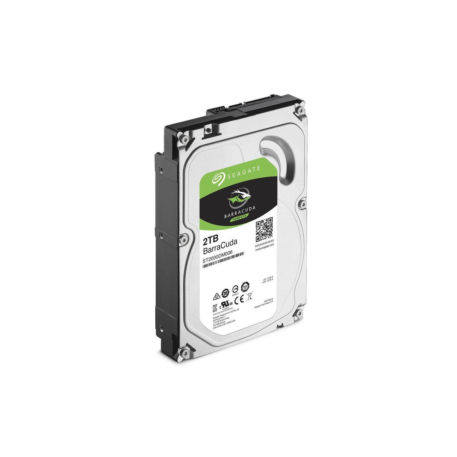 """Жесткий диск 3.5"""" 2TB Seagate (# ST2000DM006-FR#) изображение 2"""
