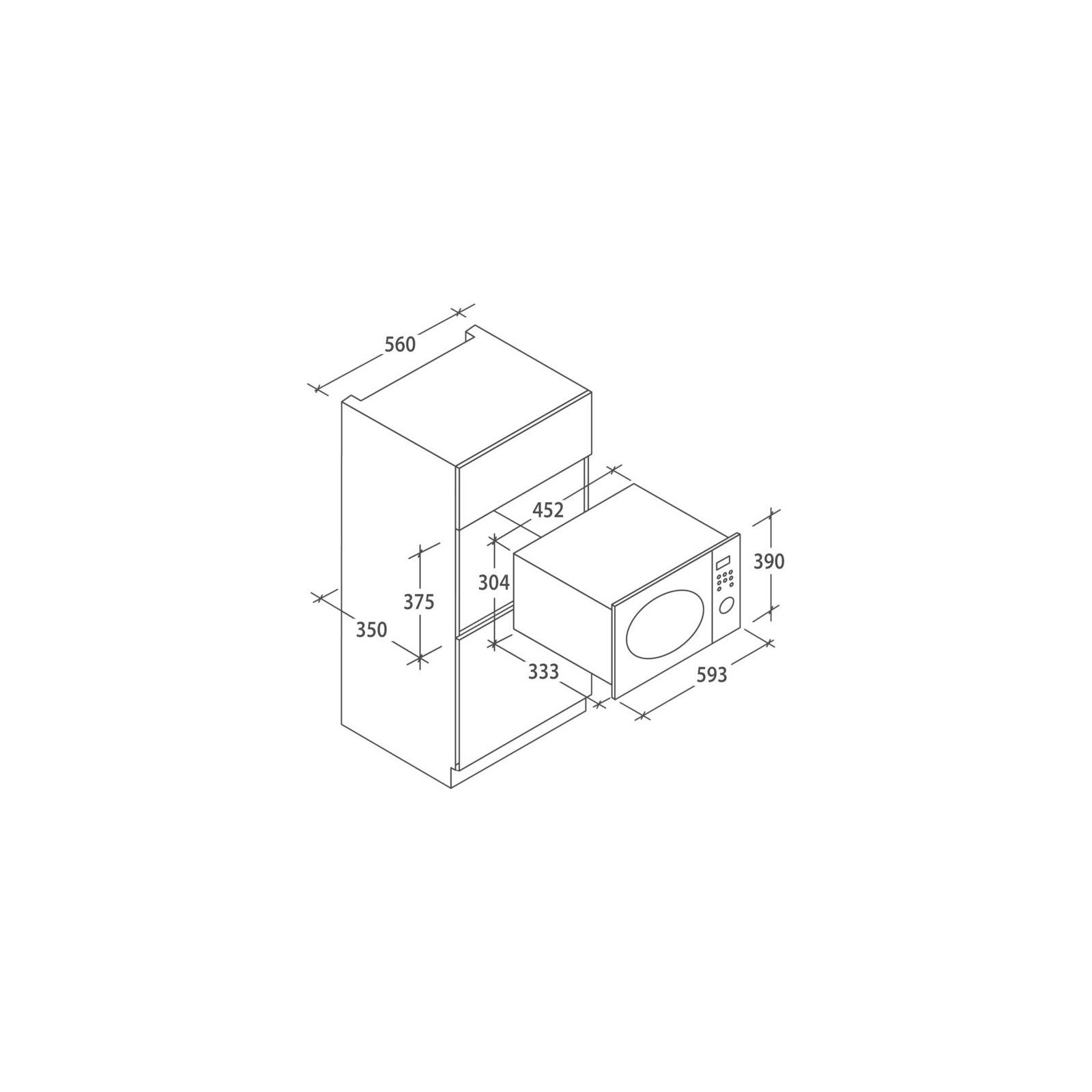 Микроволновая печь CANDY MIC 20 GDFGH изображение 2
