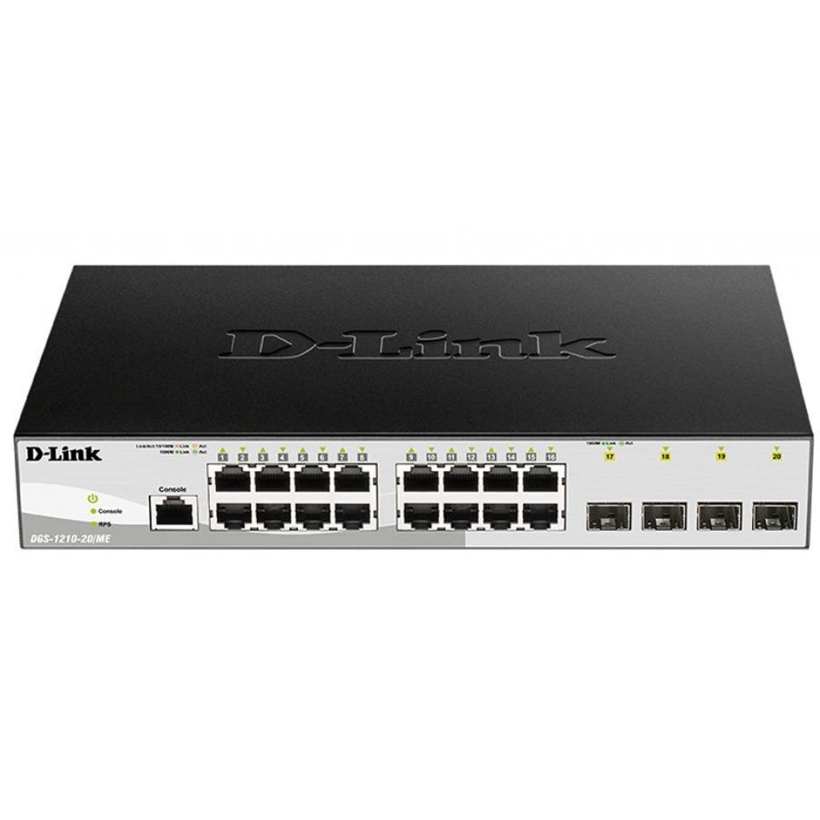 Коммутатор сетевой D-Link DGS-1210-20/ME/B