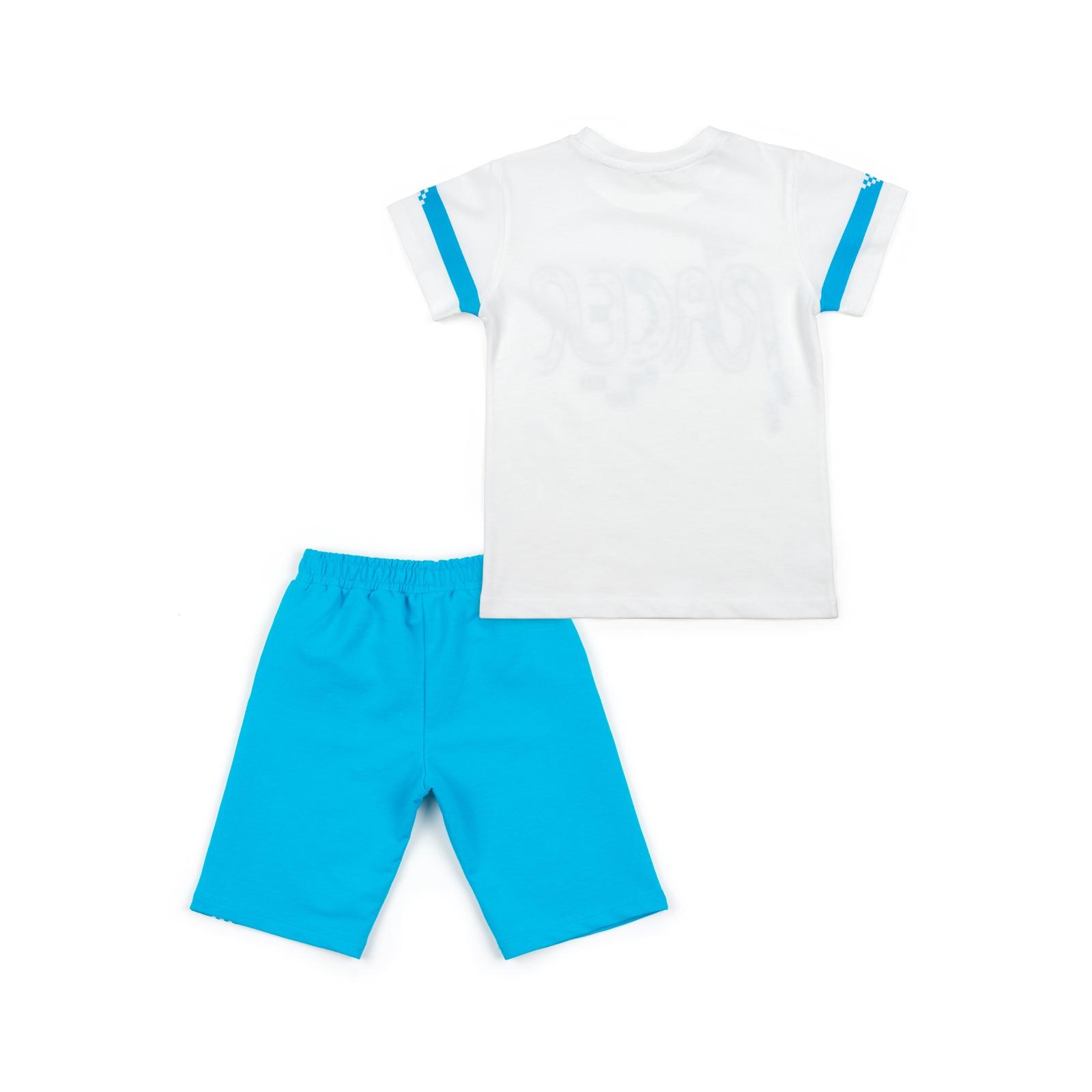 Набор детской одежды Breeze с машинками (12103-92B-blue) изображение 2