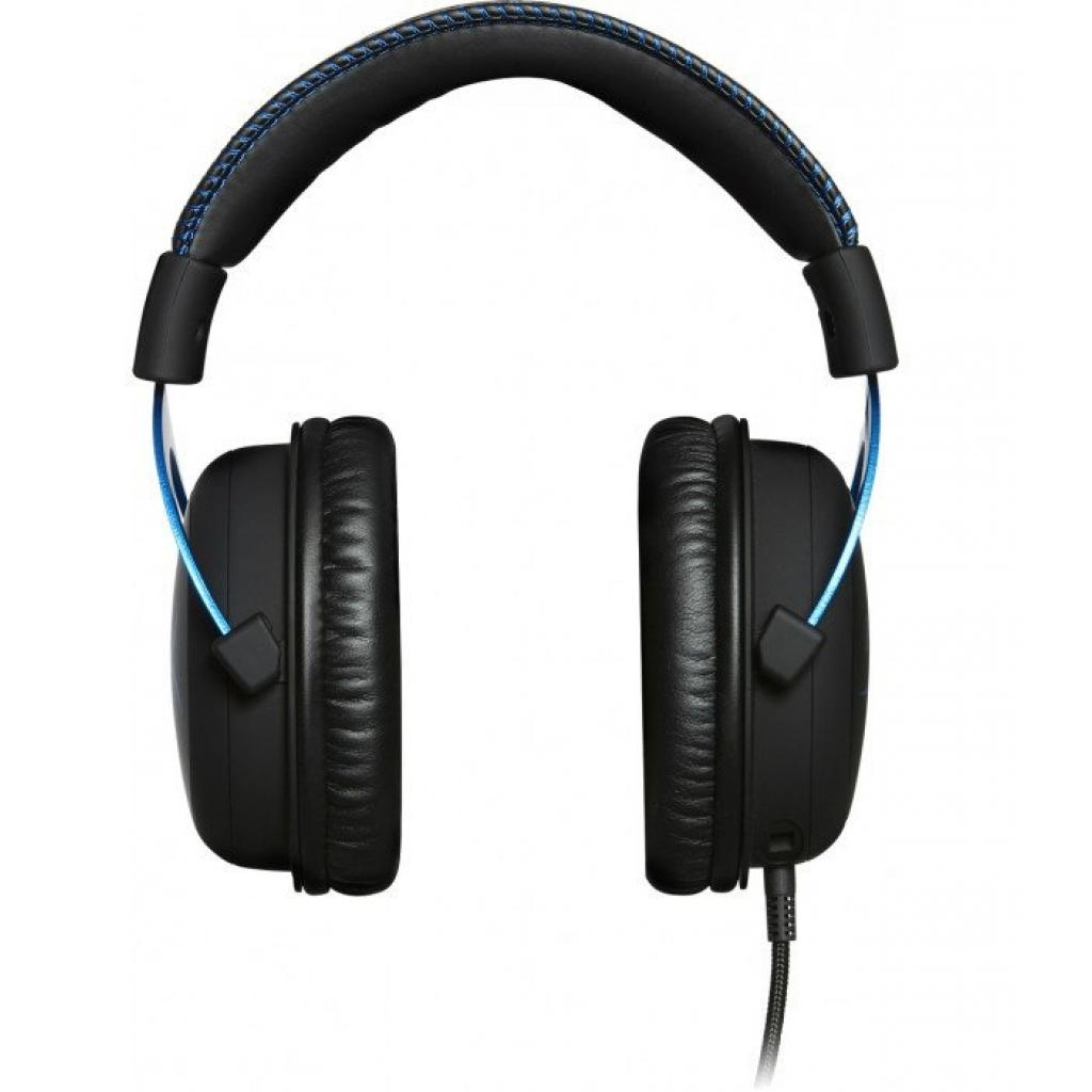 Навушники HyperX Cloud for PS4 Black/Blue (HX-HSCLS-BL/EM) зображення 2