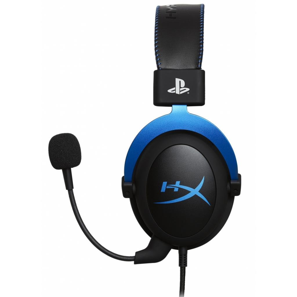 Навушники HyperX Cloud for PS4 Black/Blue (HX-HSCLS-BL/EM) зображення 3