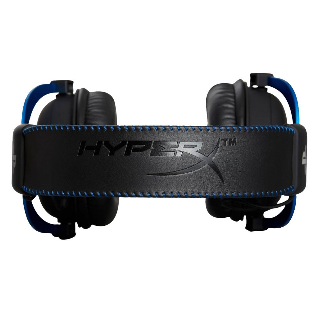 Навушники HyperX Cloud for PS4 Black/Blue (HX-HSCLS-BL/EM) зображення 4