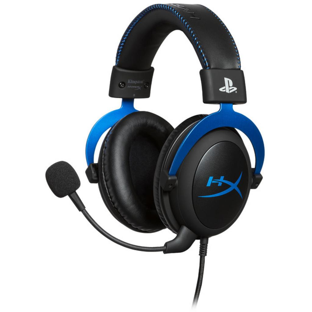 Навушники HyperX Cloud for PS4 Black/Blue (HX-HSCLS-BL/EM)