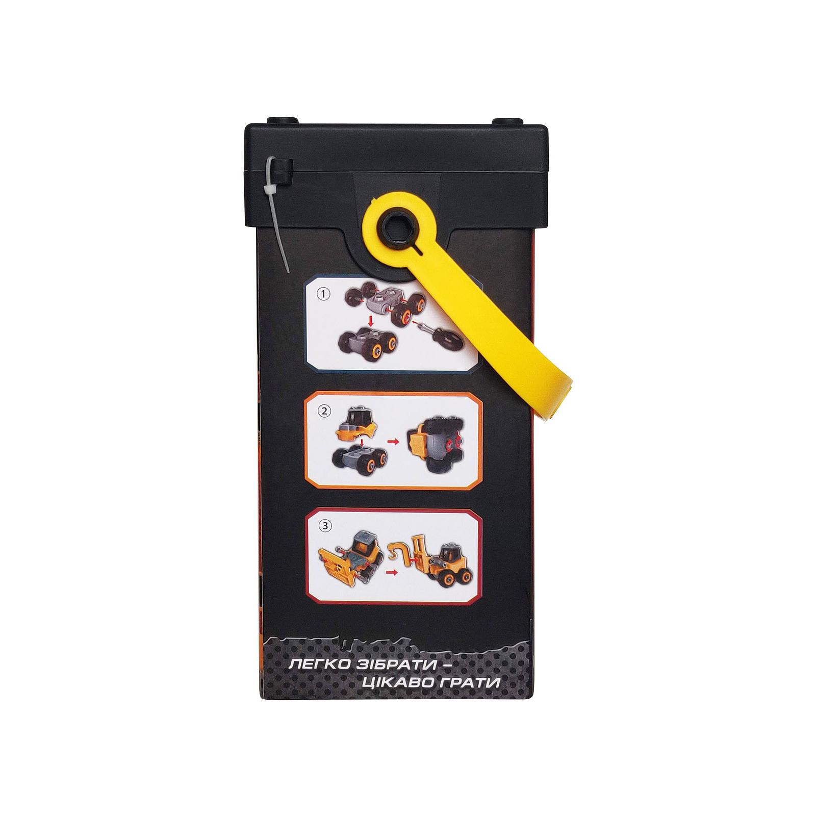 Конструктор Microlab Toys Строительная техника - крановый манипулятор (MT8912) изображение 4