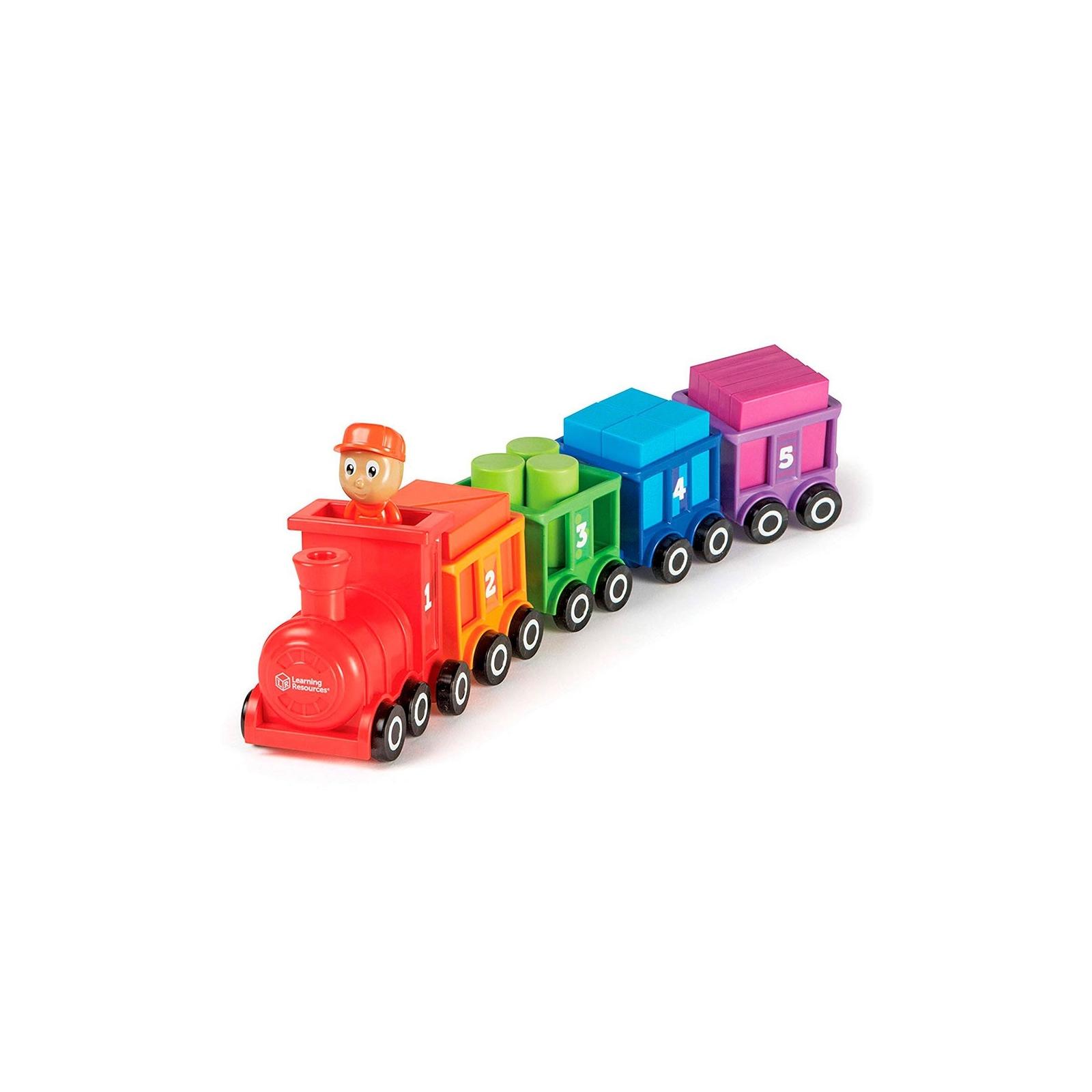 Развивающая игрушка Learning Resources Паровозик Обучающий набор (LER7742) изображение 2