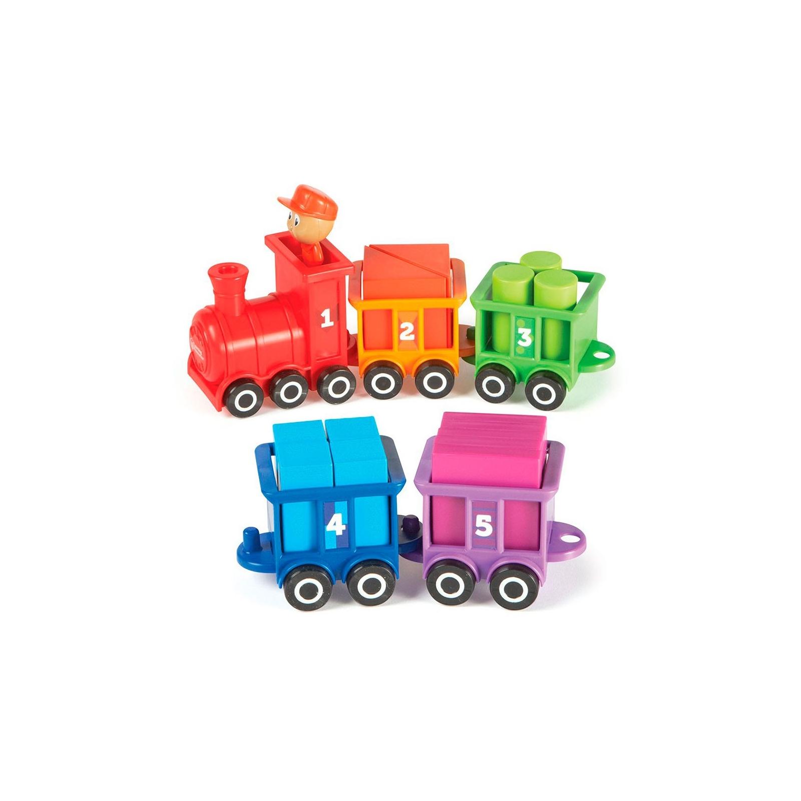 Развивающая игрушка Learning Resources Паровозик Обучающий набор (LER7742) изображение 3
