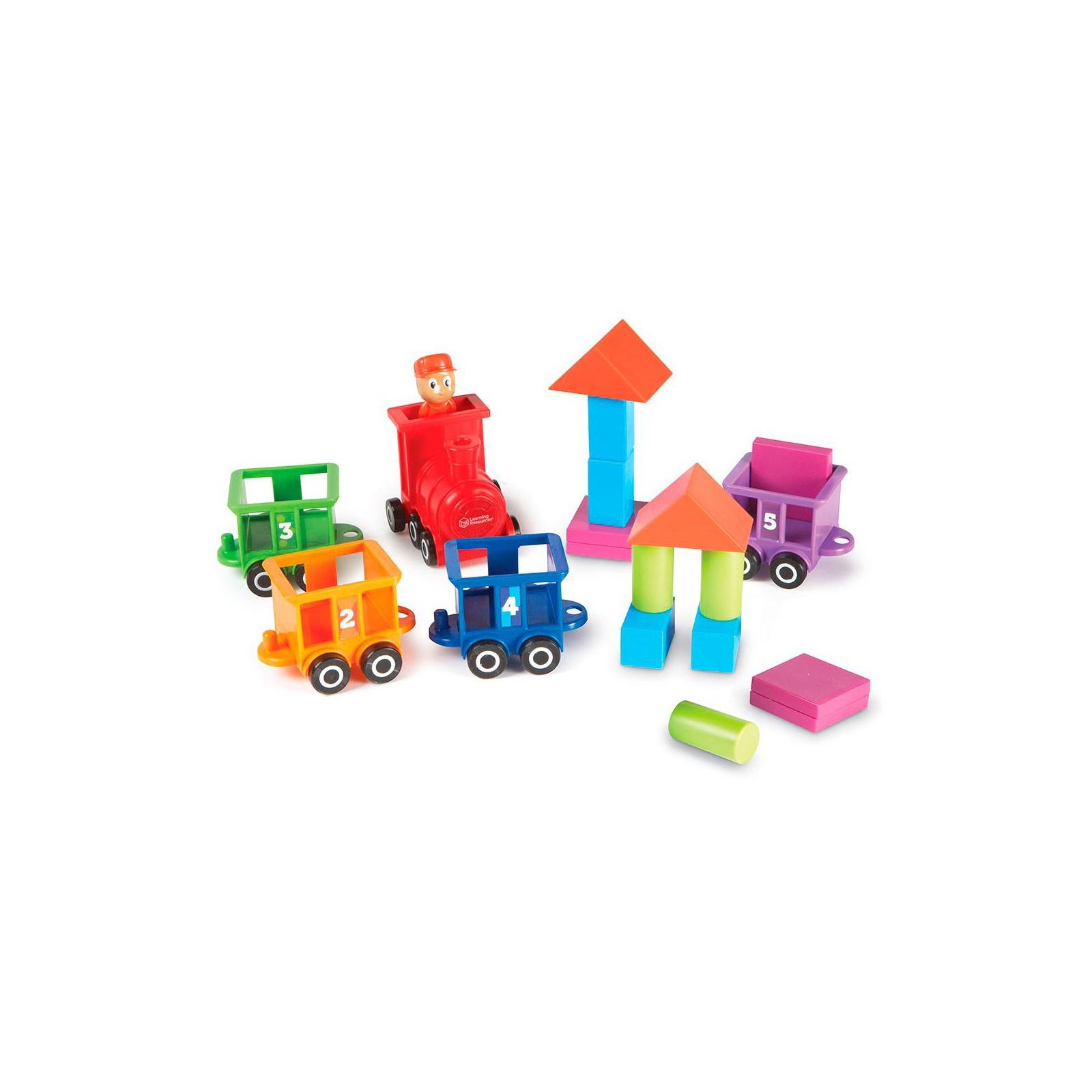 Развивающая игрушка Learning Resources Паровозик Обучающий набор (LER7742) изображение 5