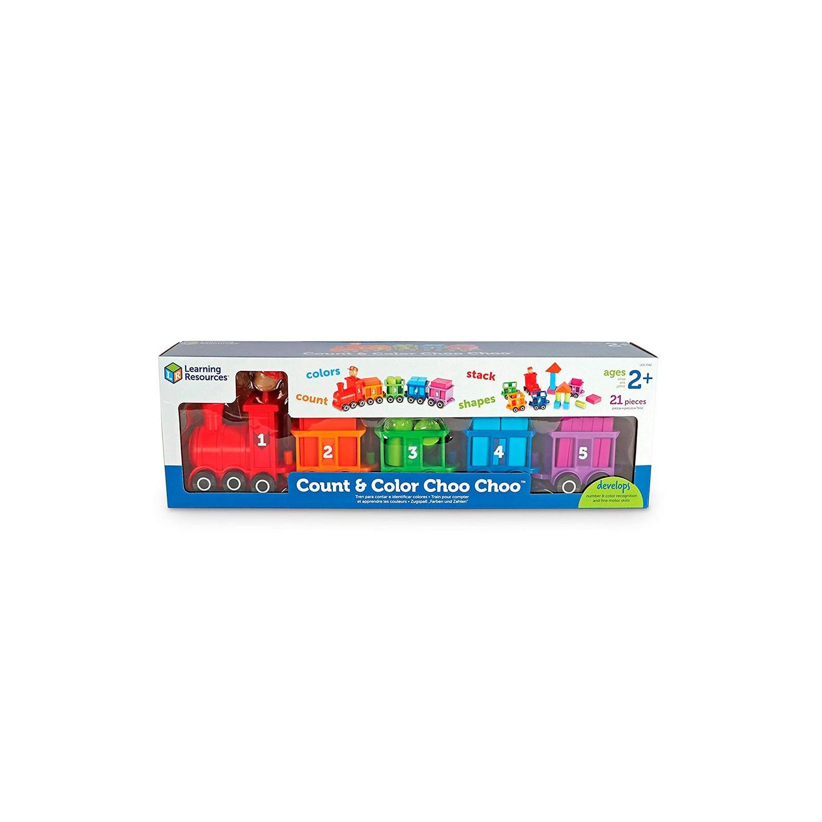 Развивающая игрушка Learning Resources Паровозик Обучающий набор (LER7742) изображение 6