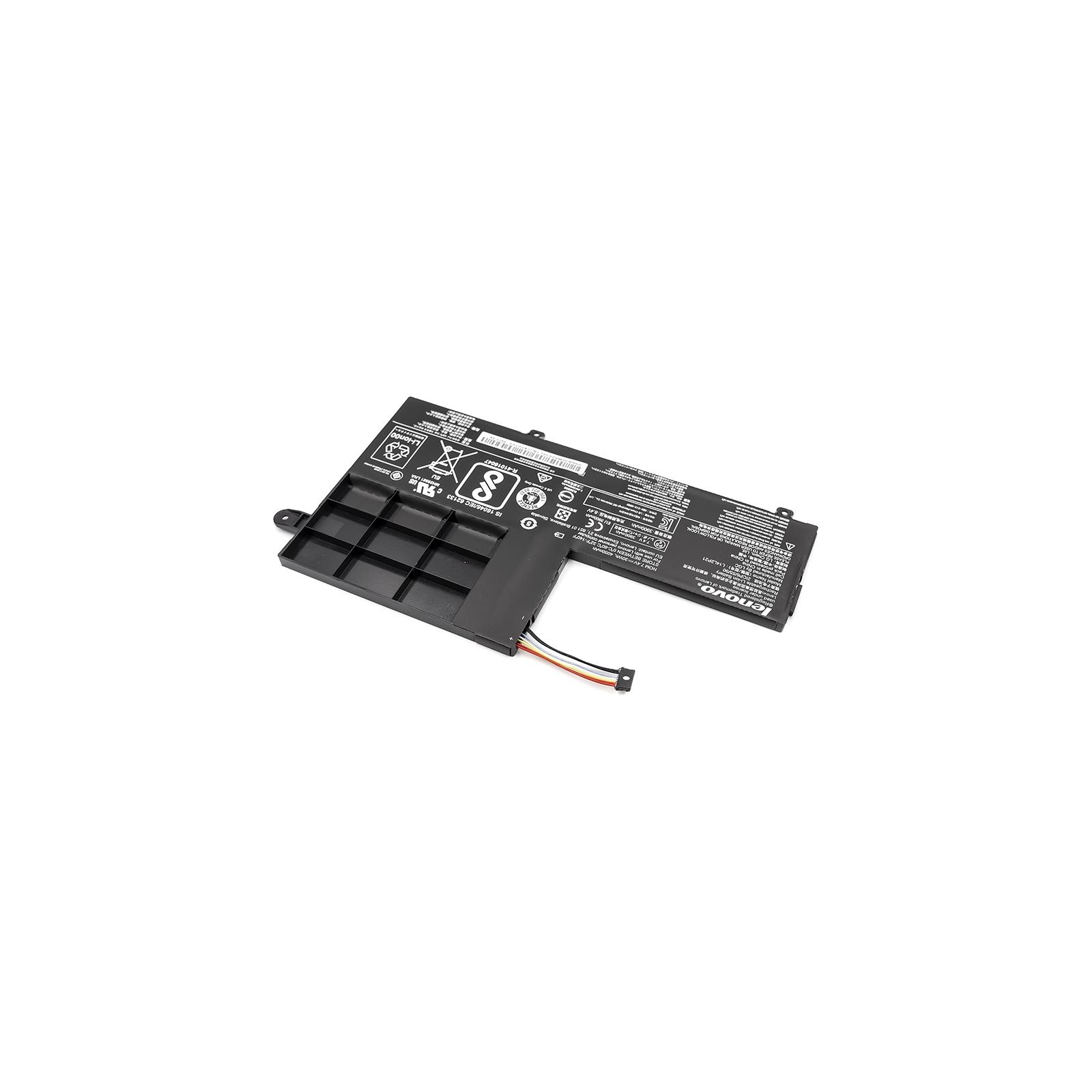 Аккумулятор для ноутбука Lenovo Ideapad 300S (L14M2P21) 7.4V 30Wh (NB480715) изображение 2