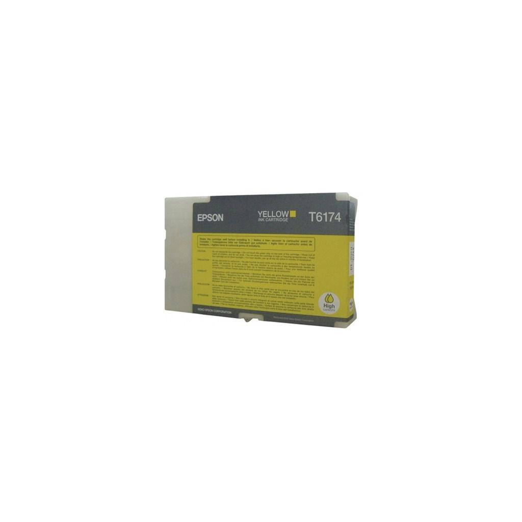 Картридж EPSON B500DN high capacity yellow (C13T617400)
