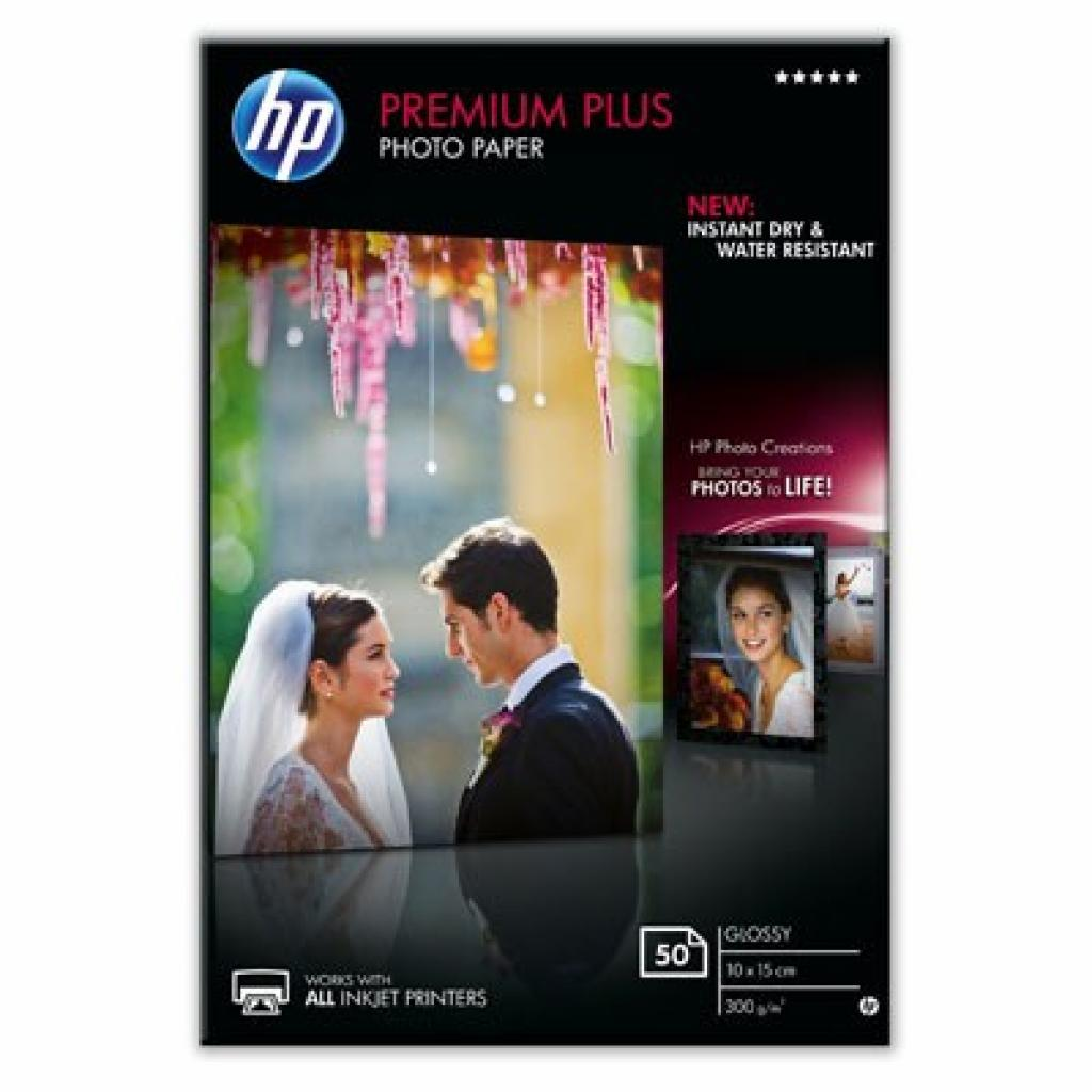 Бумага HP 10x15 Premium Plus Photo (CR695A)