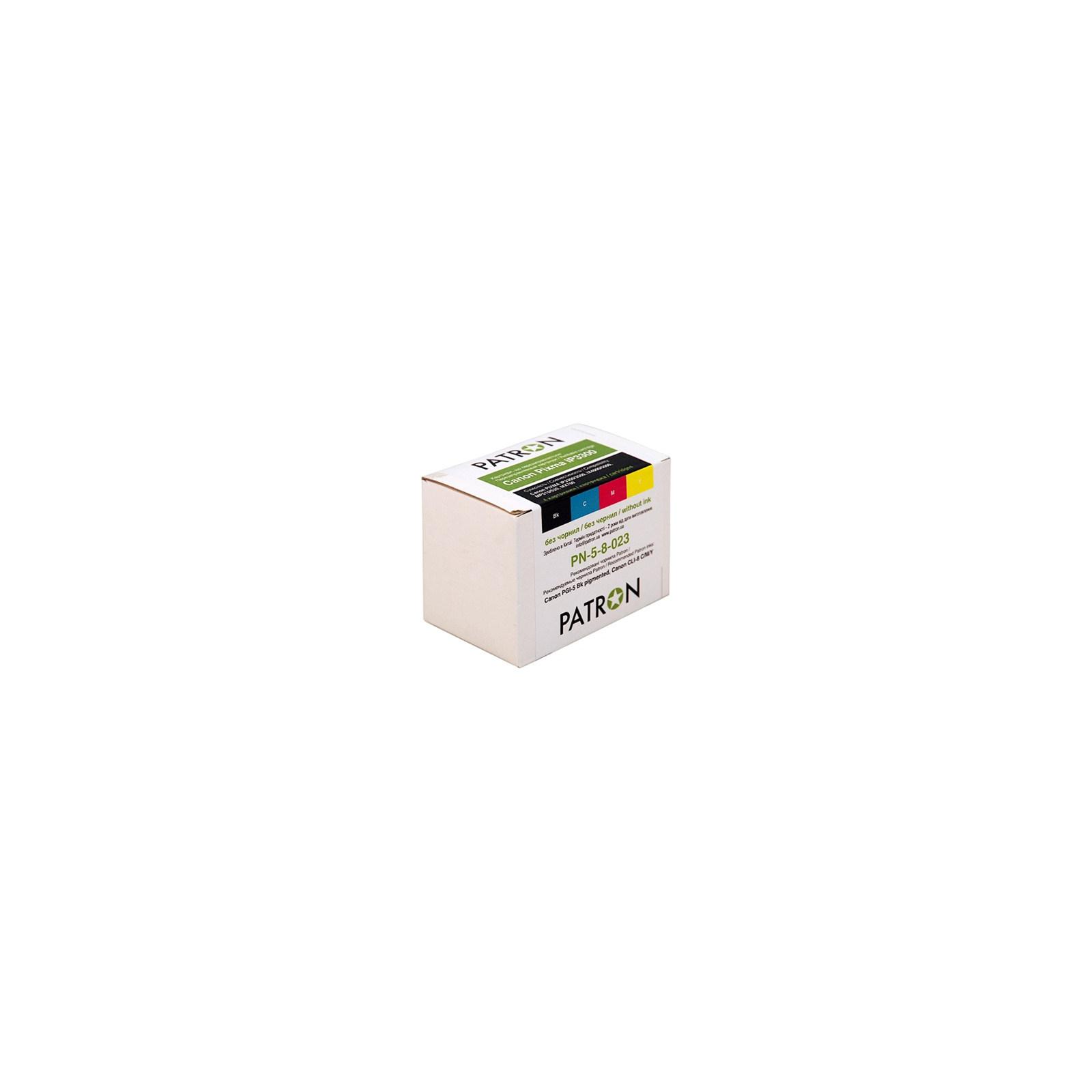 Комплект перезаправляемых картриджей PATRON CANON PIXMA iP3300 (4 шт) (PN-5-8-023)