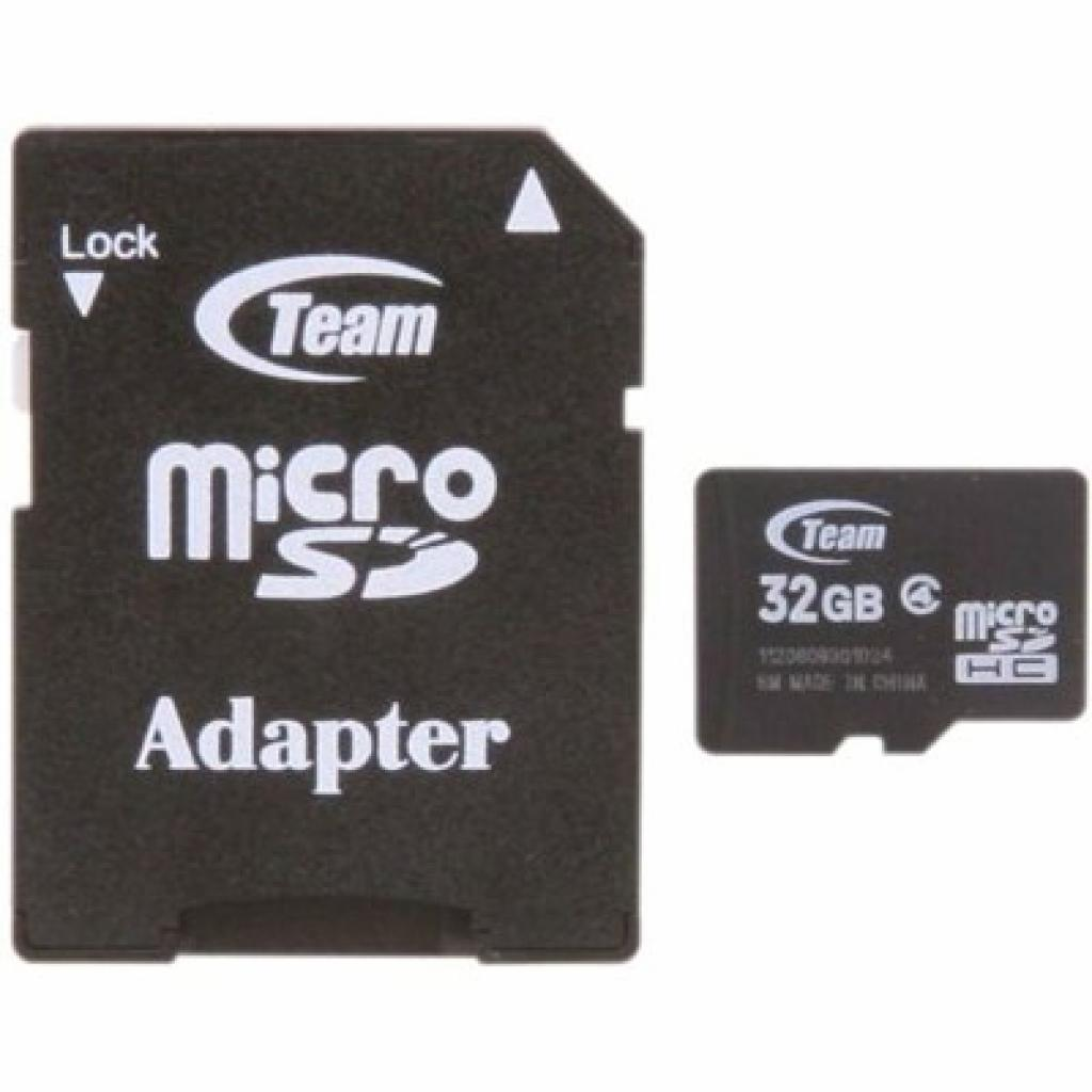 Карта памяти Team 32Gb microSDHC class 4 (TUSDH32GCL403 / TG032G0MC24A)