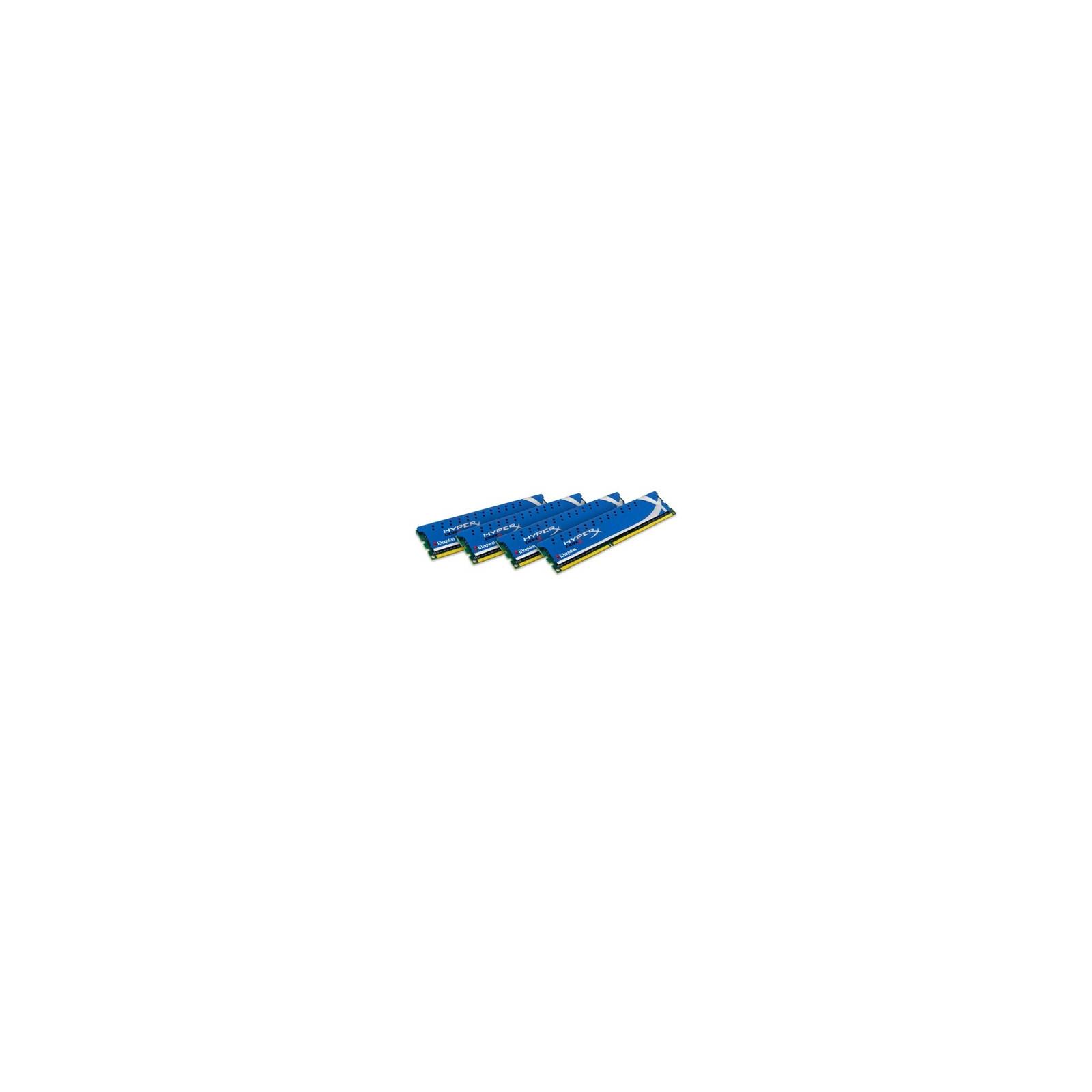 Модуль памяти для компьютера DDR3 16GB (4x4GB) 1866 MHz Kingston (KHX1866C9D3K4/16GX)