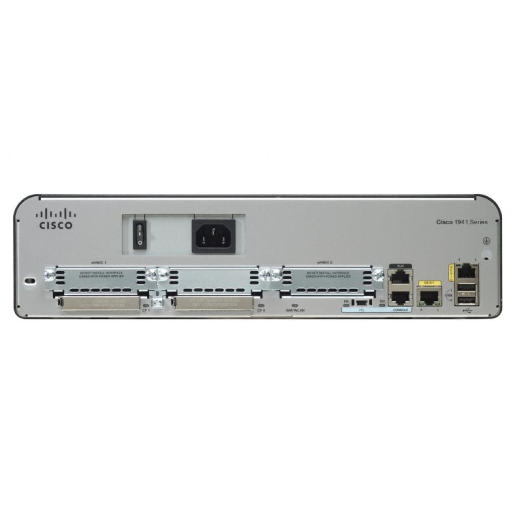Маршрутизатор Cisco CISCO1941/K9 изображение 2