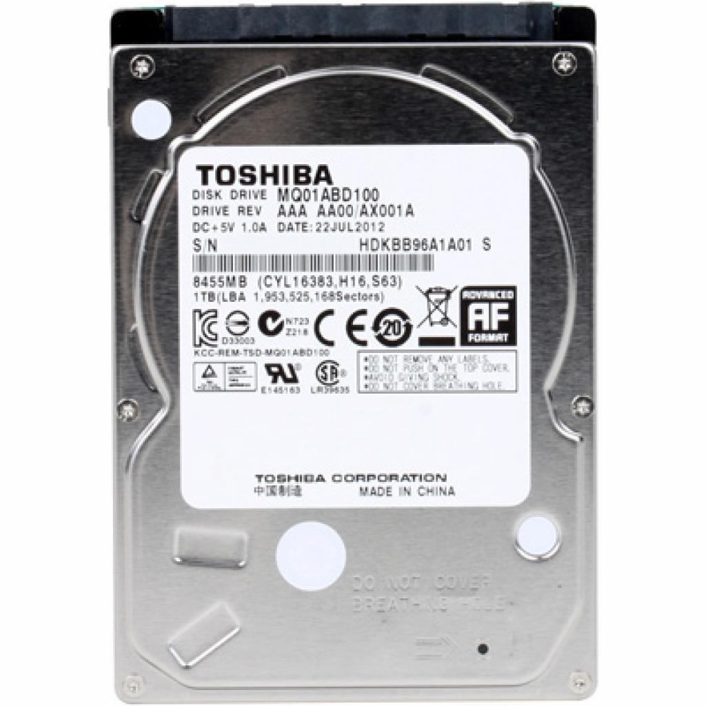 "Жесткий диск для ноутбука 2.5"" 1TB TOSHIBA (MQ01ABD100H)"