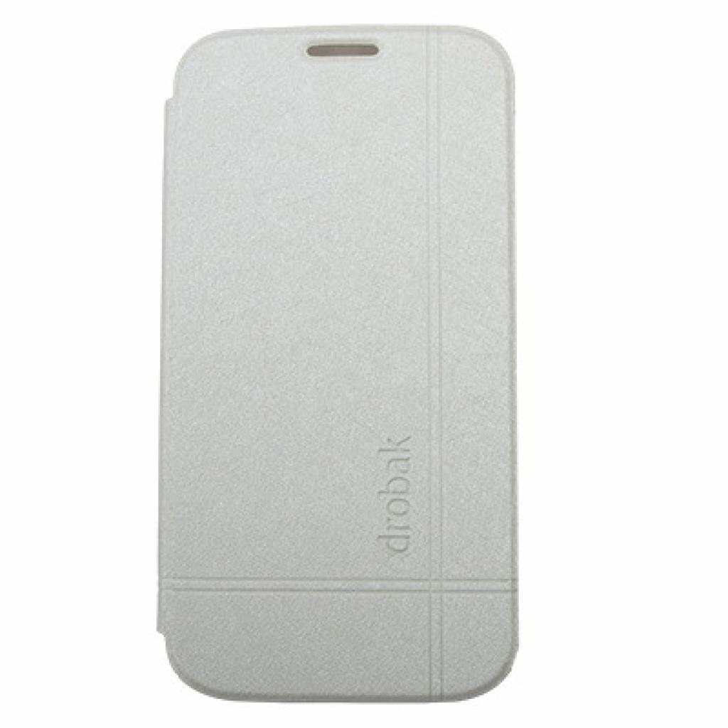 Чехол для моб. телефона Drobak для Samsung I9500 Galaxy S4 /Simple Style/White (215285)