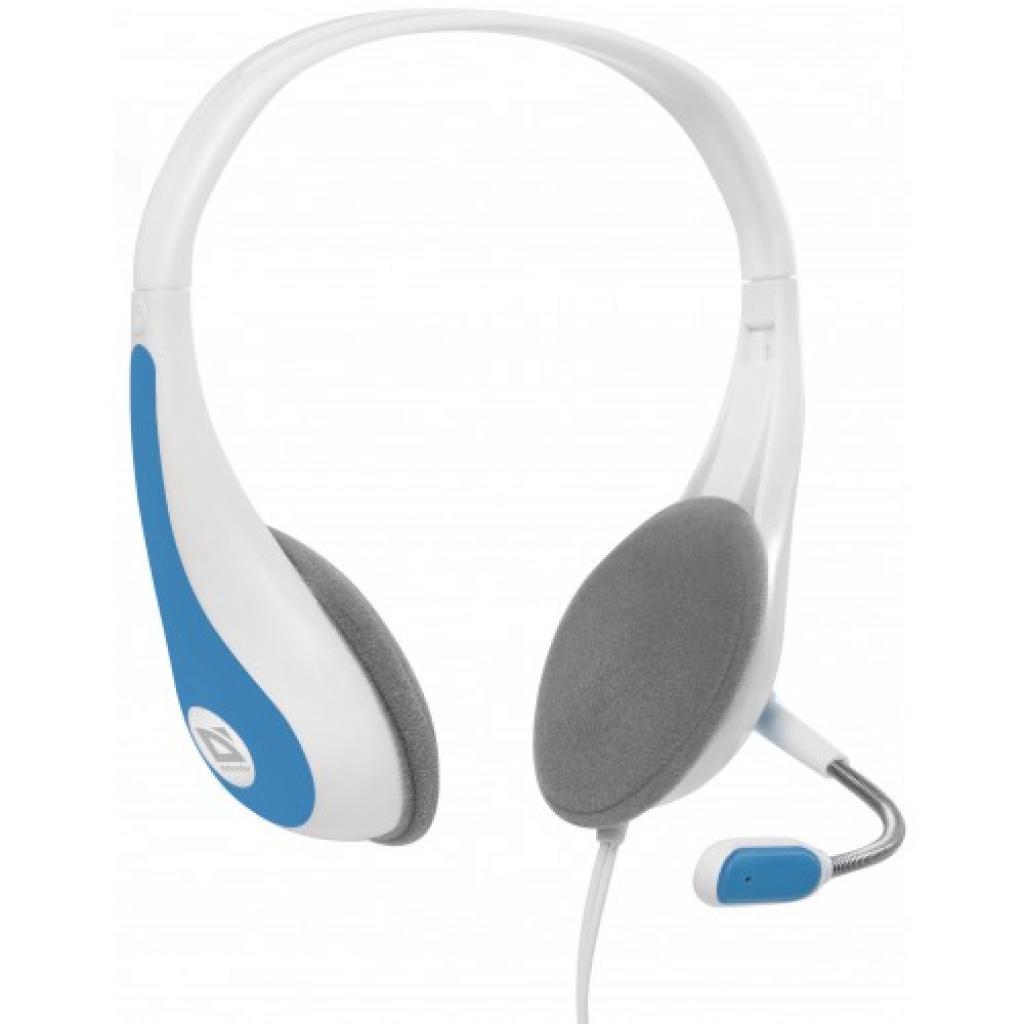 Наушники Defender Esprit HN-836 біло-блакитні (63838)