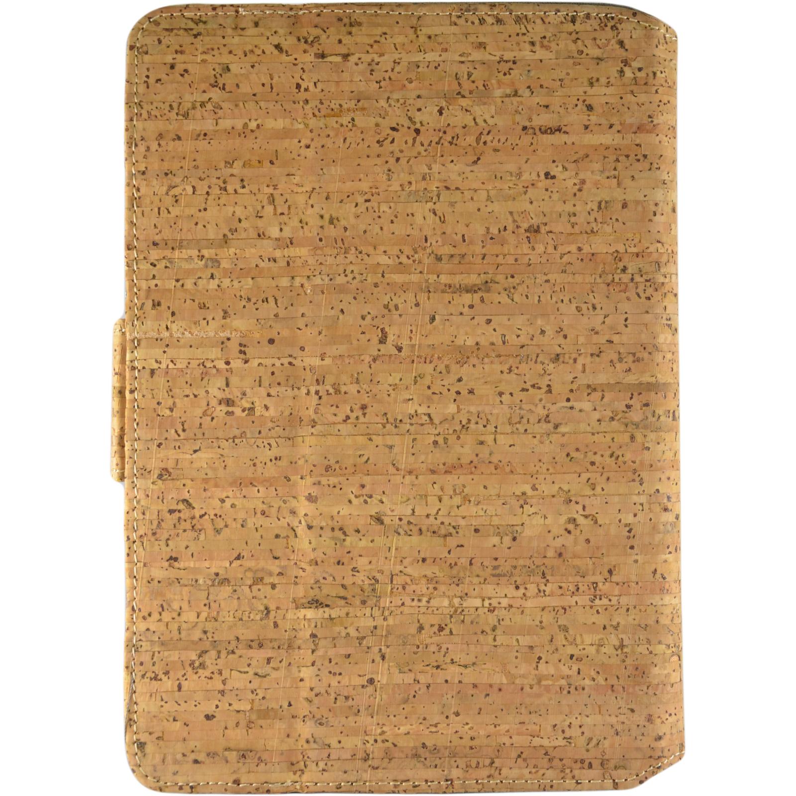 """Чехол для планшета Pro-case Чохол планшету унiверсальний Pro-case Cork case 7-8"""" beige (UNS-045) изображение 2"""